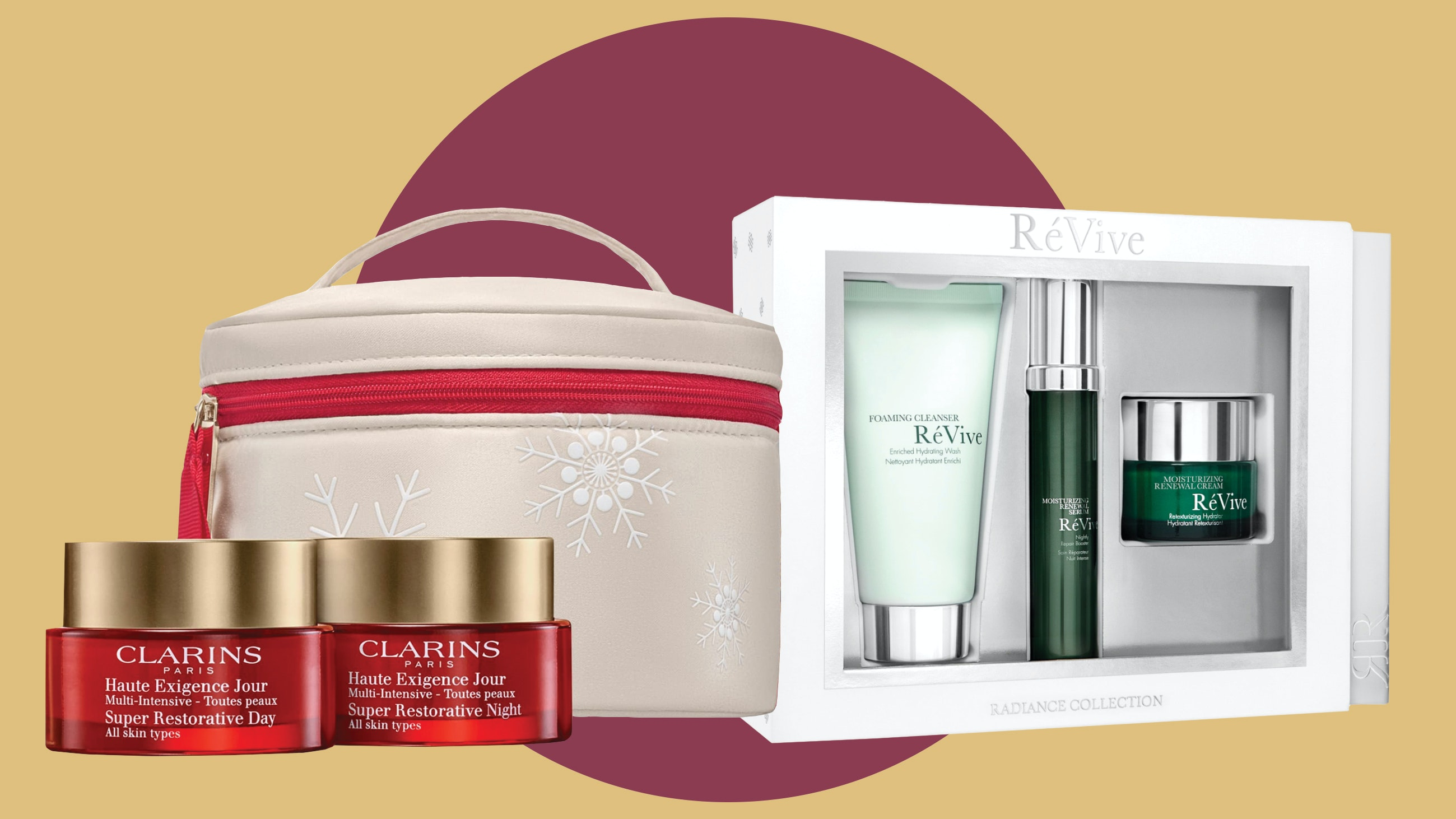 Luxury skincare sets