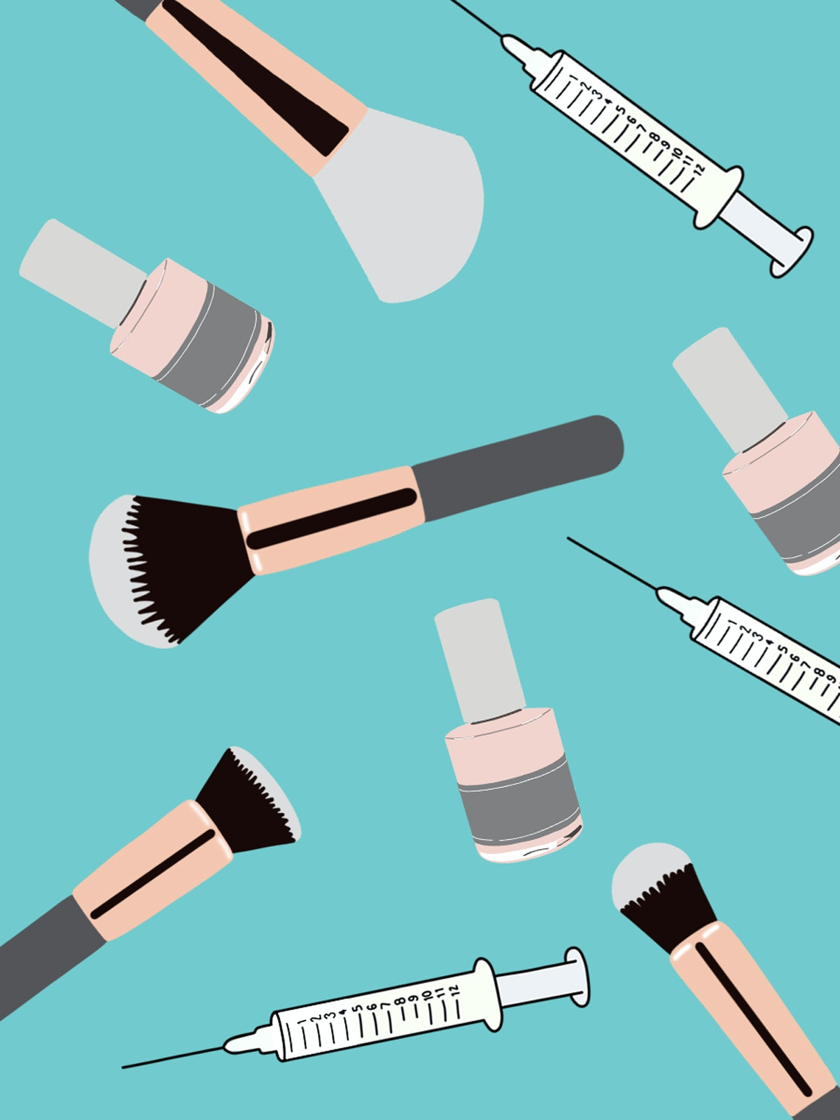 makeup brushes and syringes chicago injectable budget