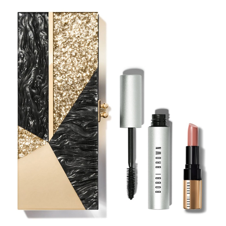 Bobbi Brown Dripping In Luxe Edie Parker Clutch Set
