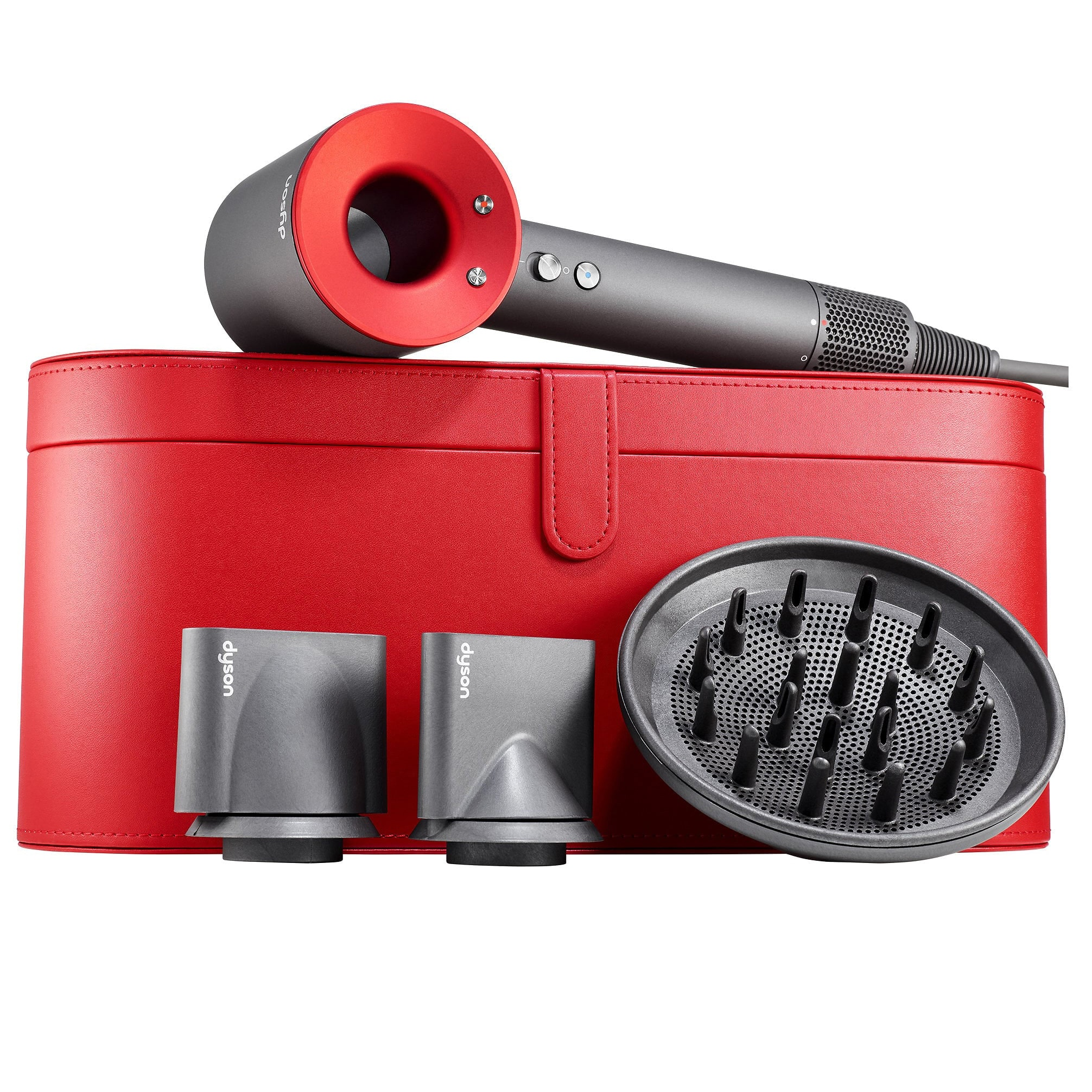 Dyson Supersonic Dryer Gift Edition with Red Case