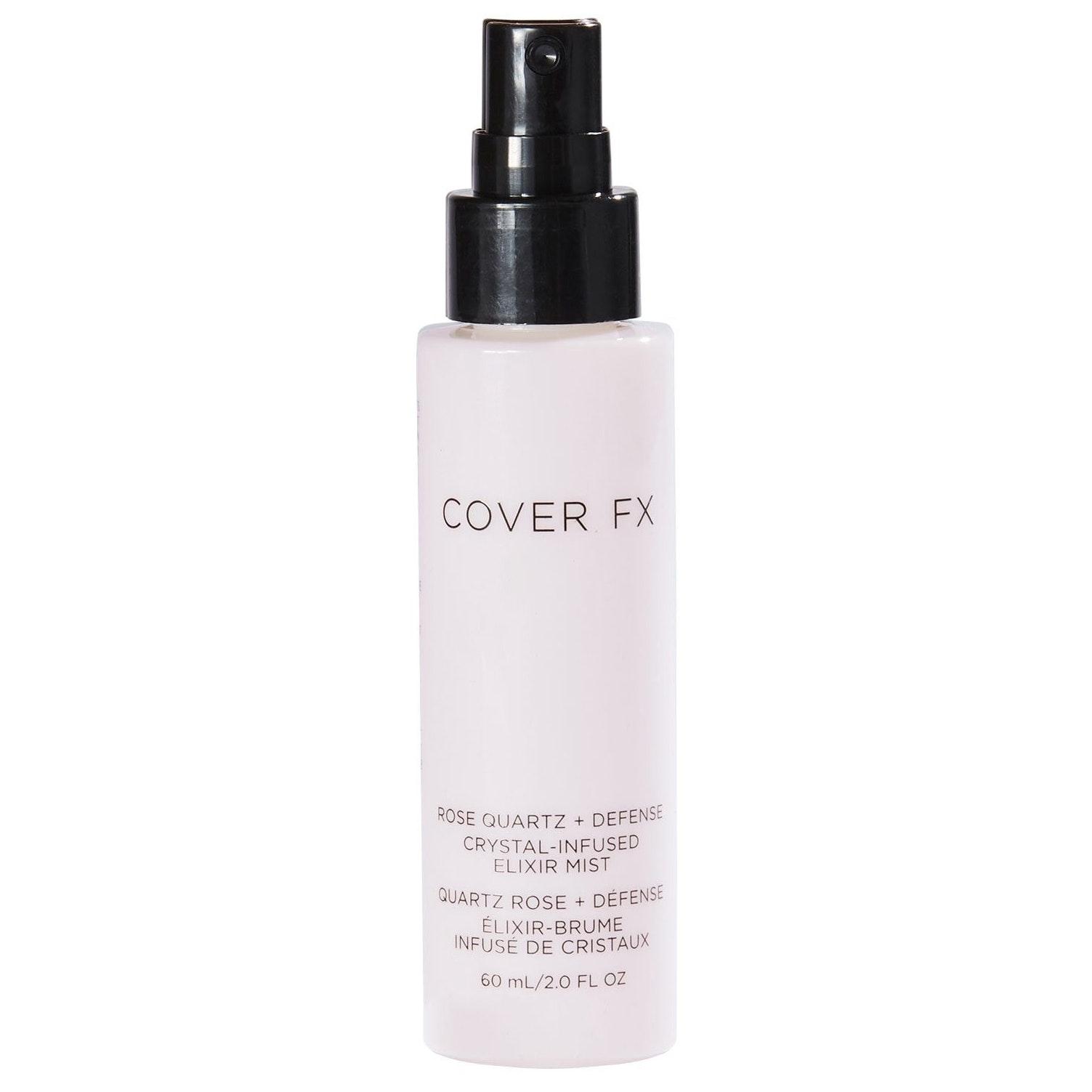 Cover FX® Rose Quartz + Defense Crystal-Infused Elixir Mist