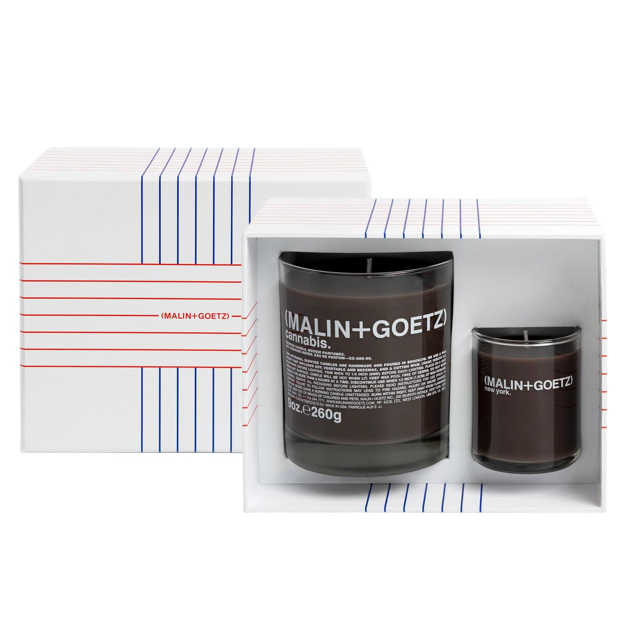 (Malin + Goetz) Get Lit Cannabis Candle Set