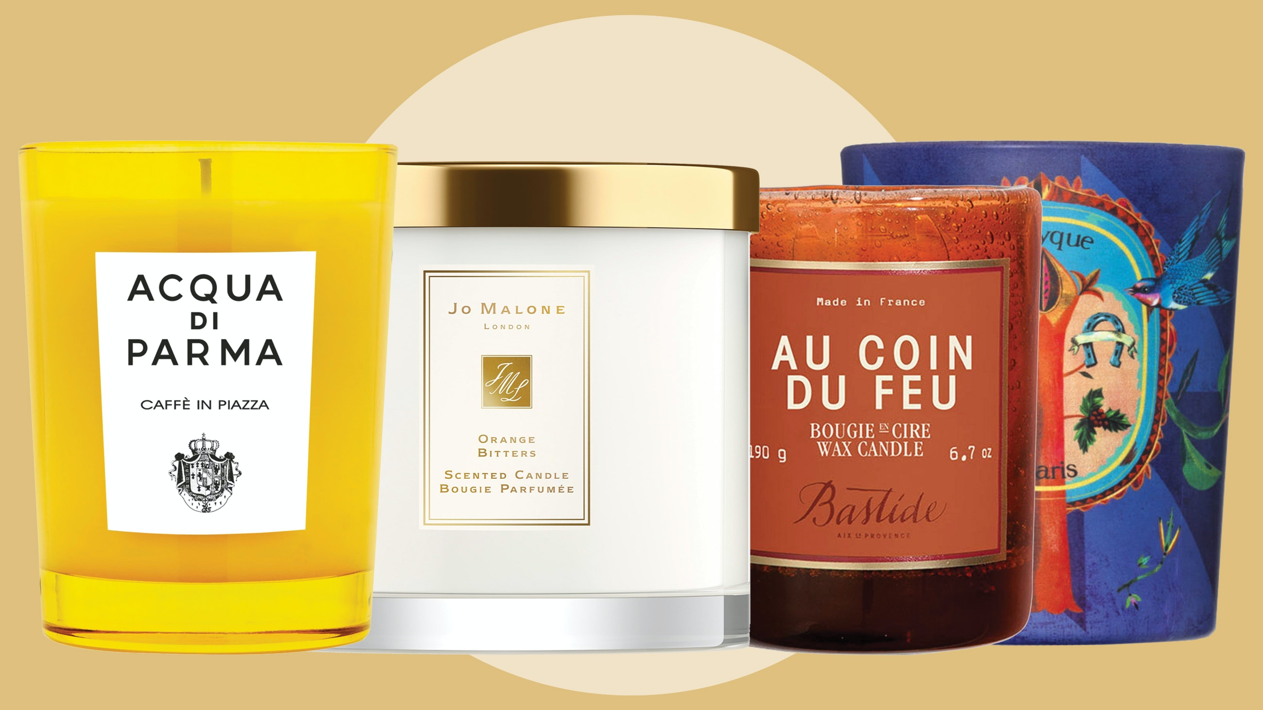 Cappuccino Foam, Cardamom, and 10 Other Unexpectedly Scented Holiday Candles You'll Love