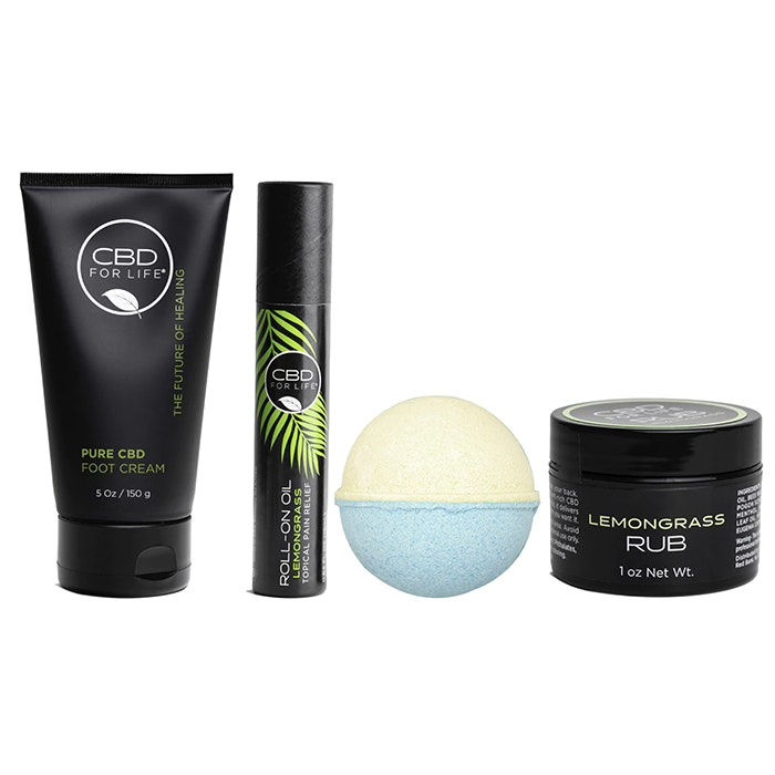 CBD For Life® All The Feels™ Lemongrass Soothing Set