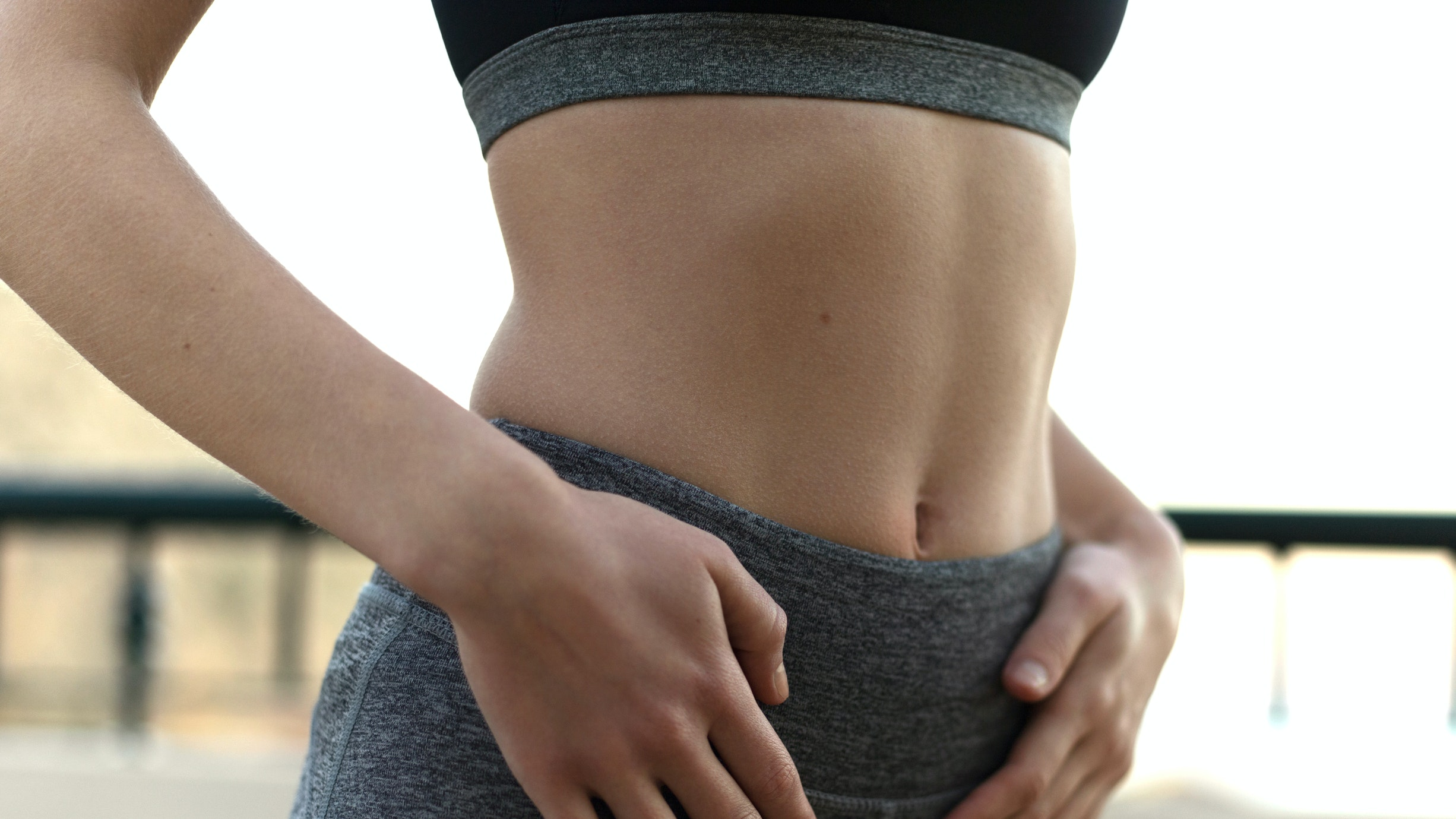 Woman's midsection