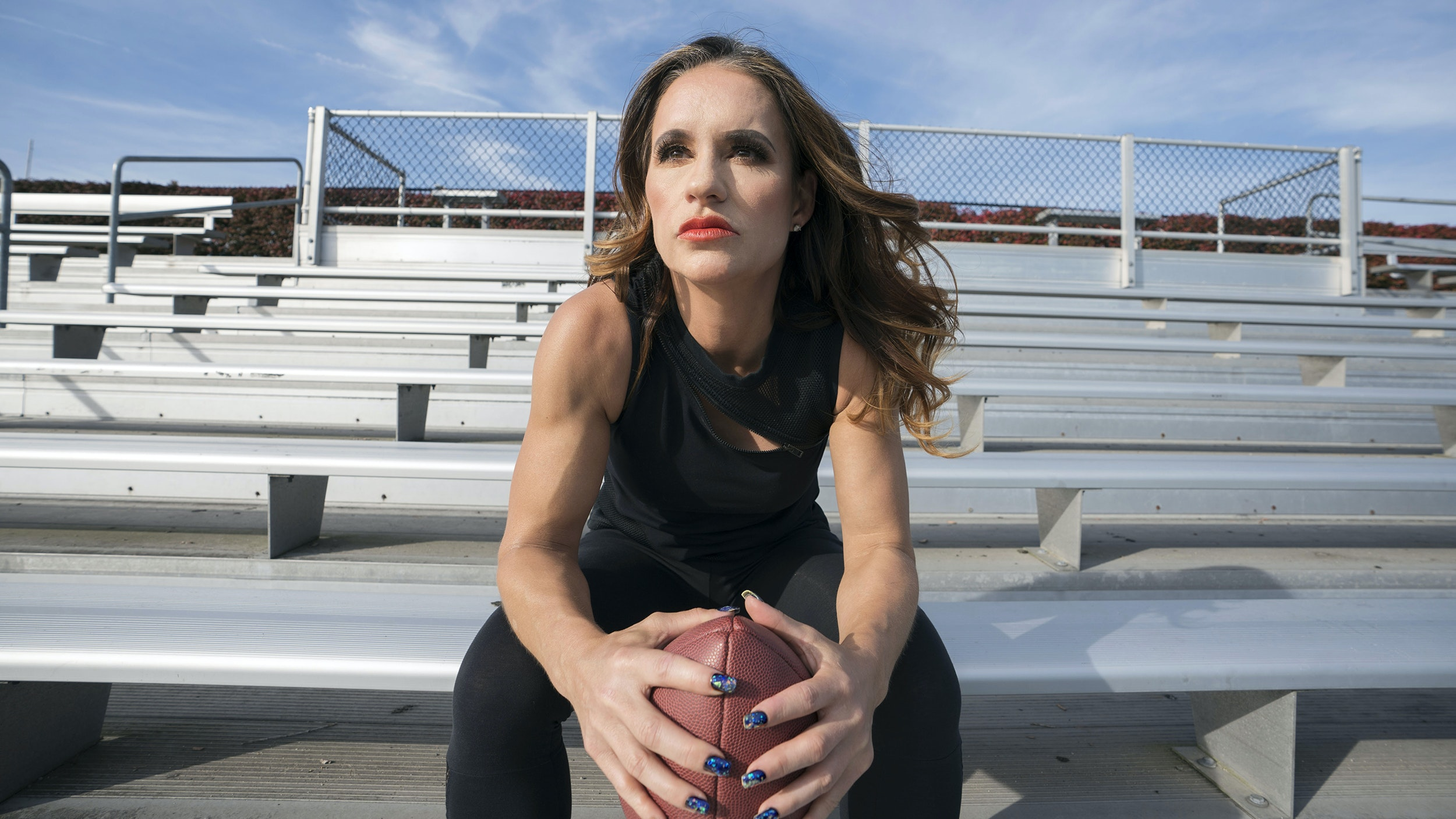 Jen Welter female NFL coach interview