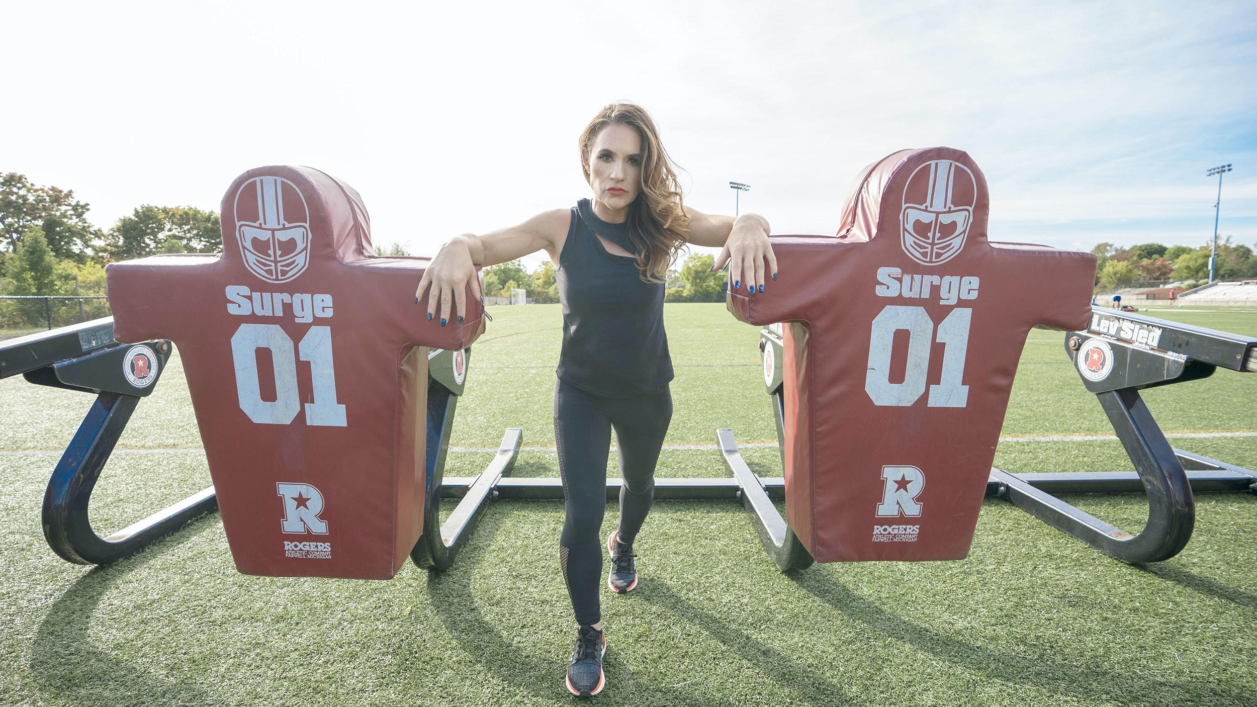 Jen Welter female NFL coach interview