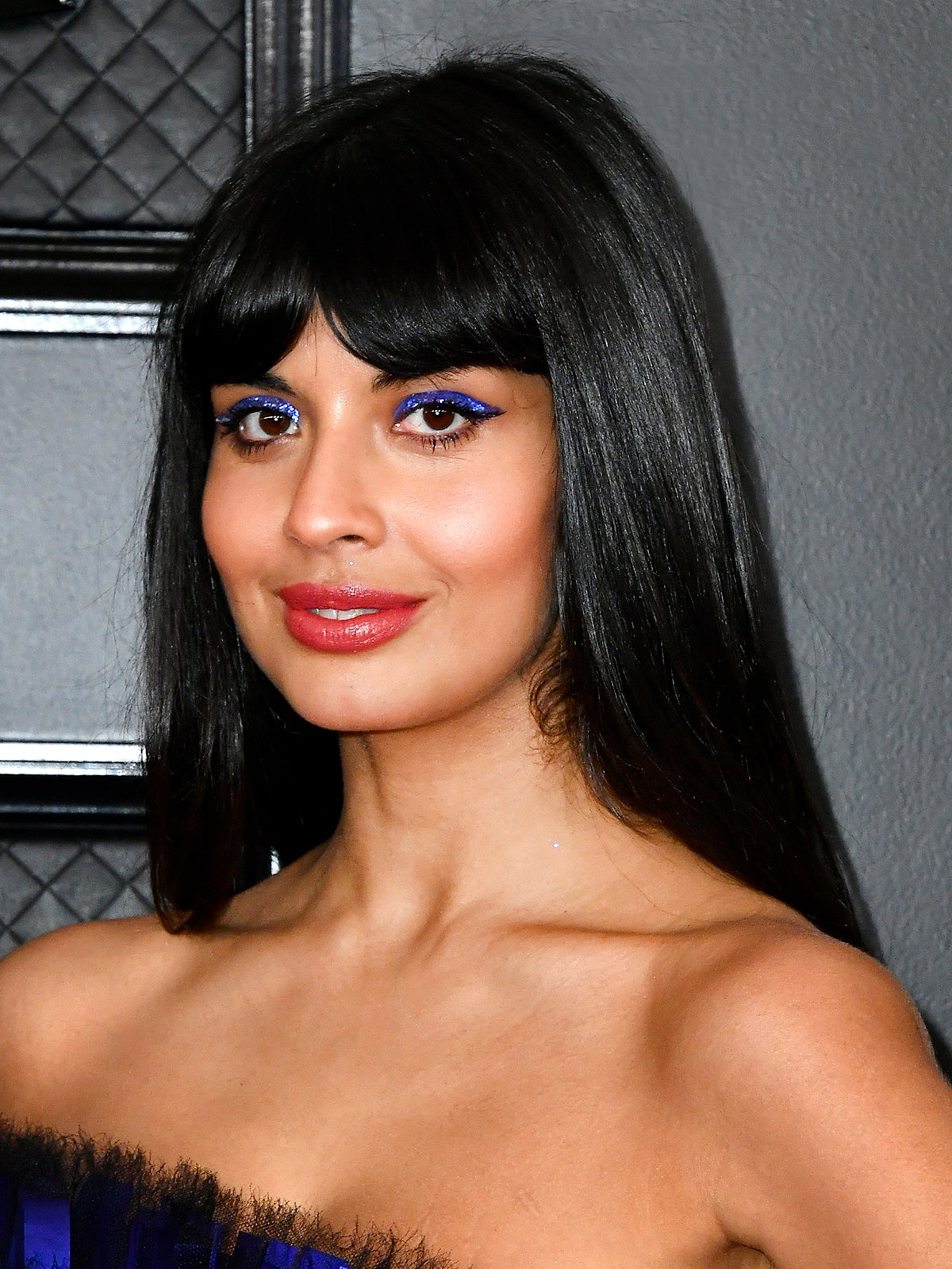 Jameela Jamil Best Beauty Looks GRAMMYs 2020