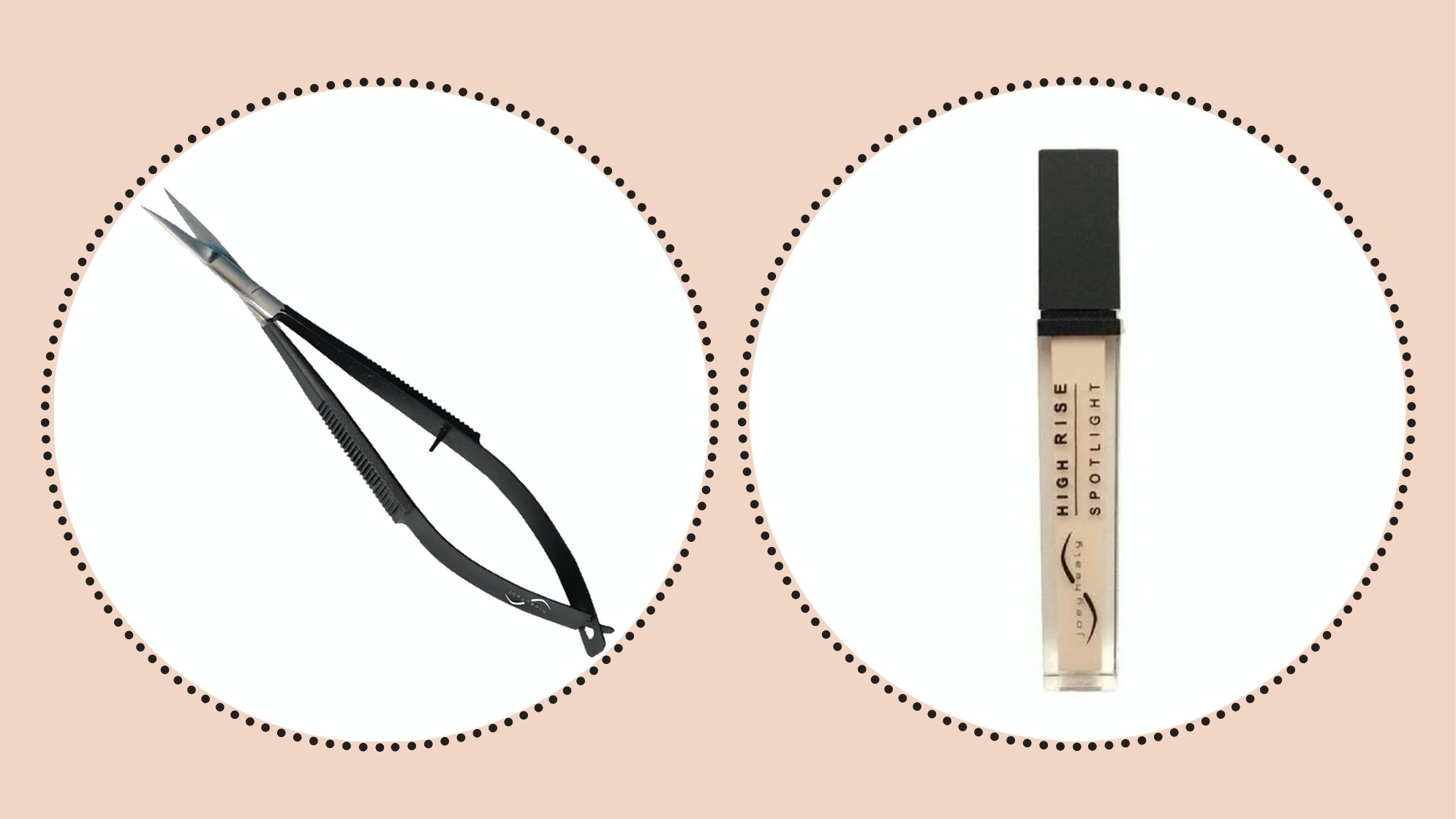 how to shape eyebrows with brow scissor and brow highlighter