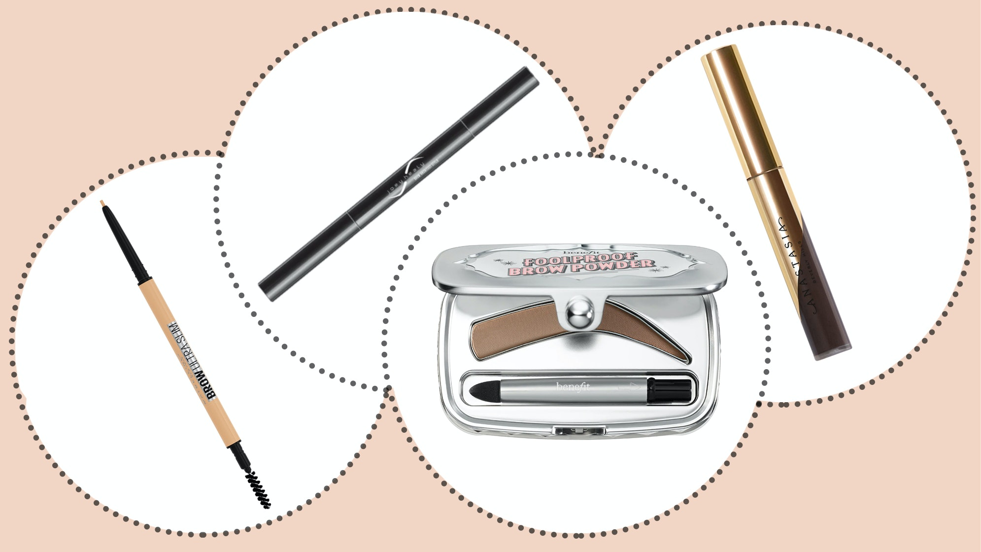 how to shape eyebrows with eyebrow pencils and eyebrow powder