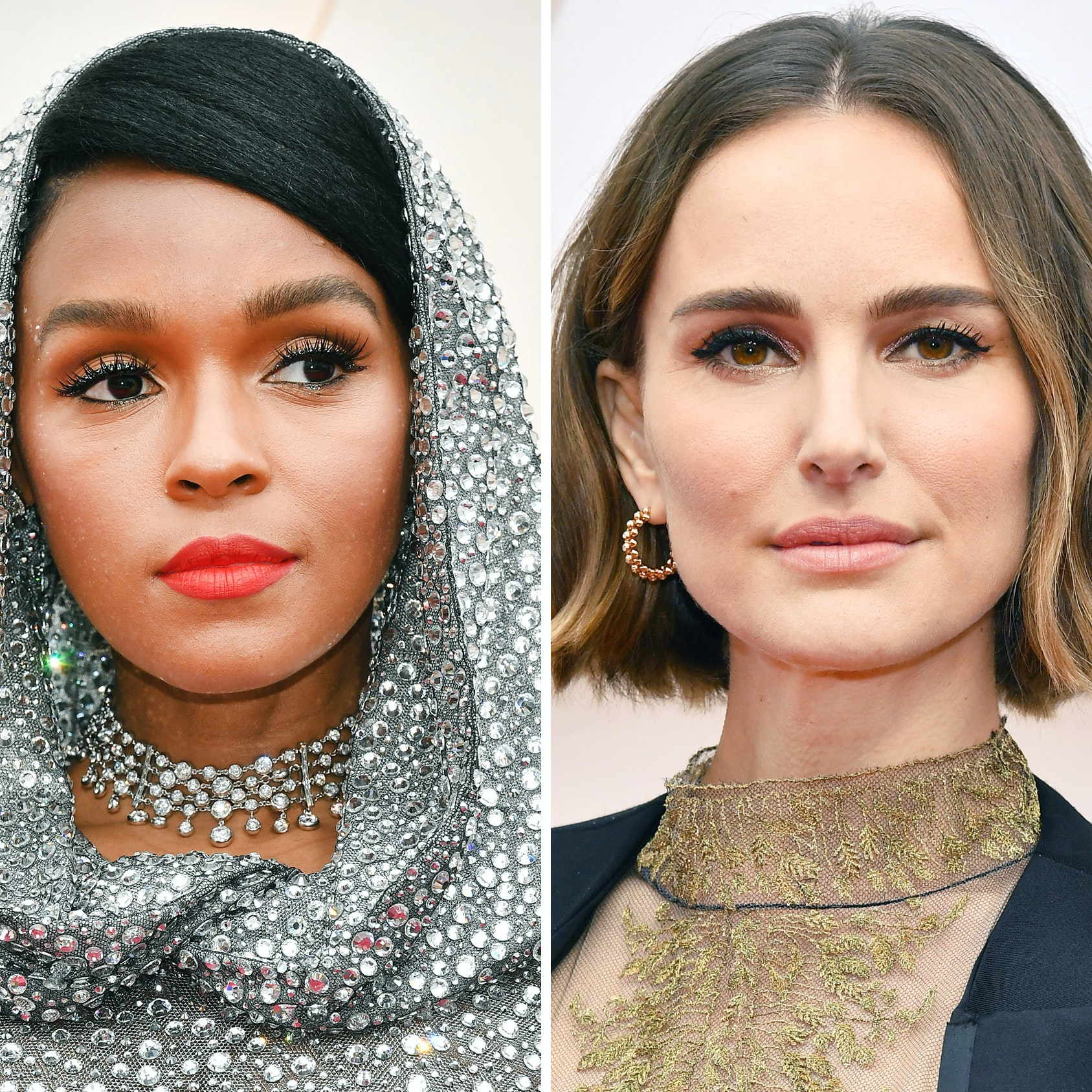 The Most Daring, Glitzy, and Memorable Beauty Moments From the Oscars 2020 Red Carpet