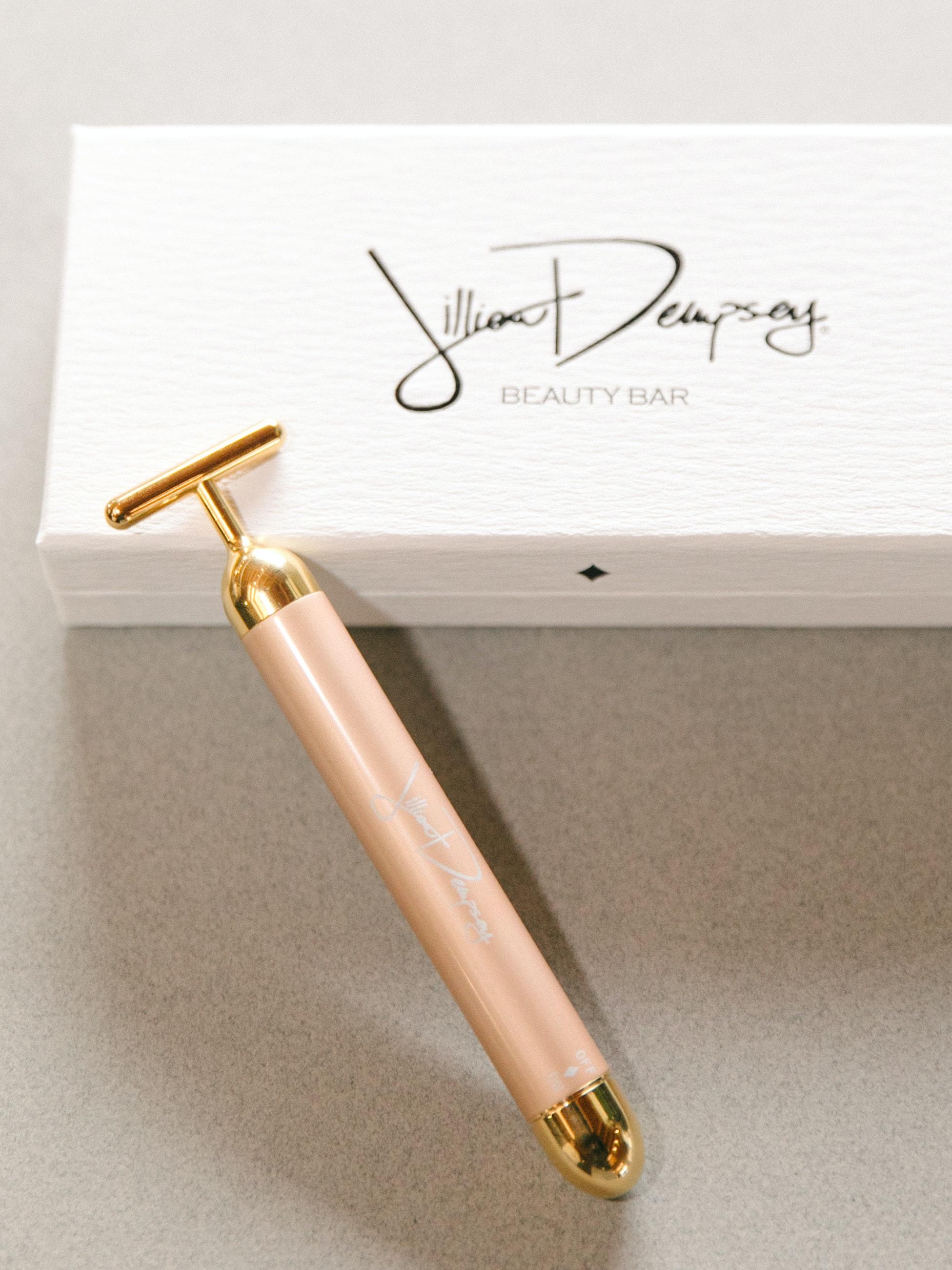 face massager jillian dempsey gold bar