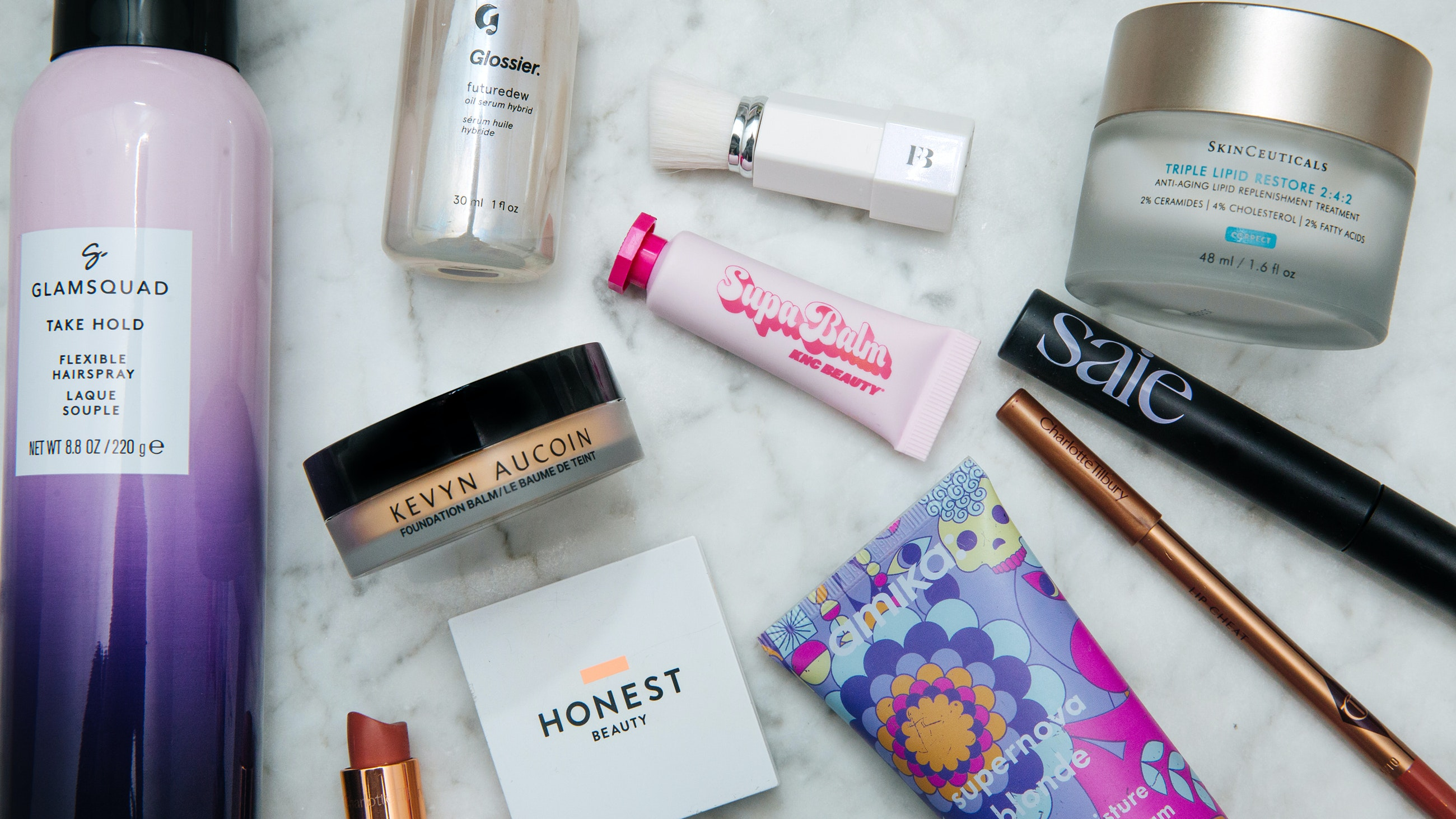 Carly Cardellino makeup routine products