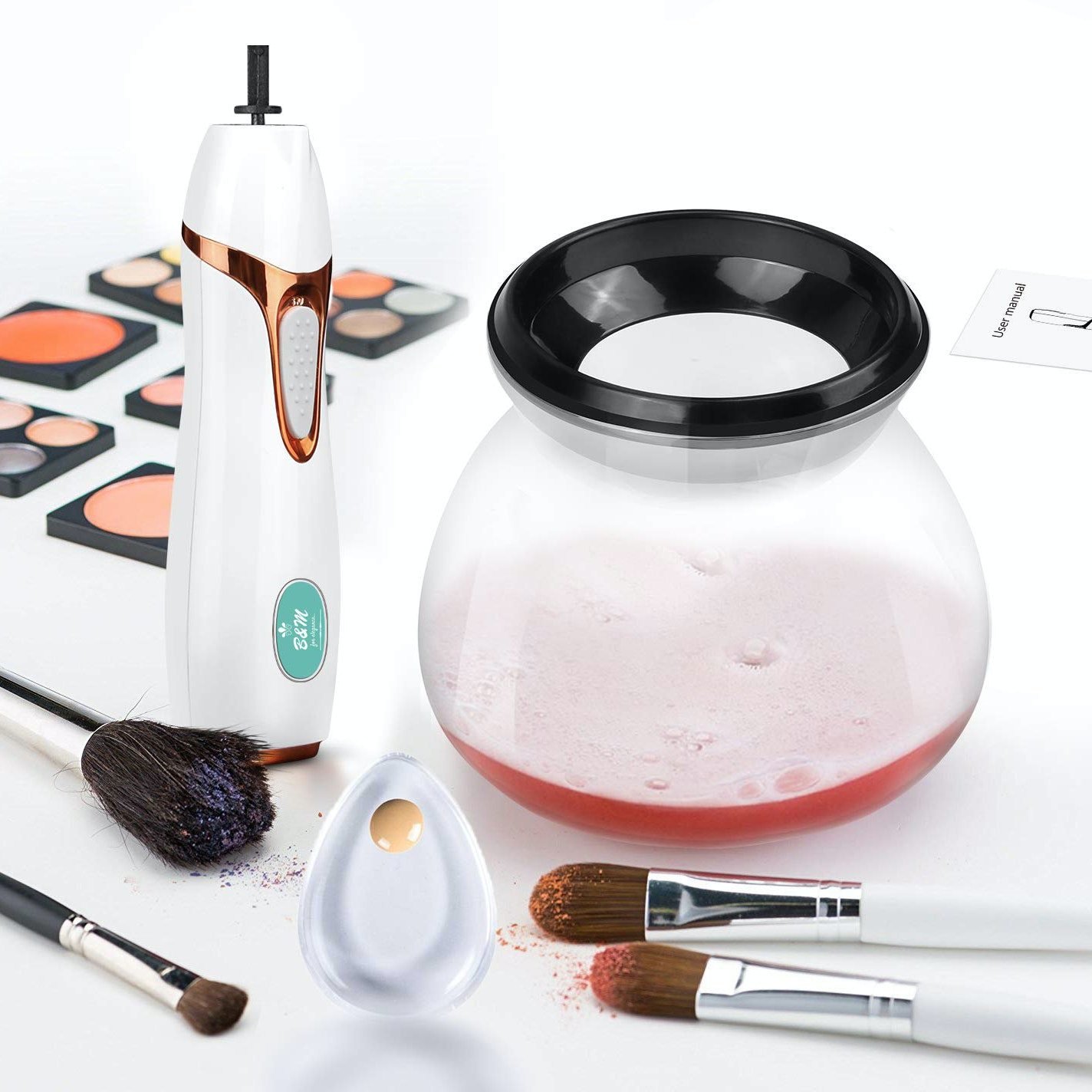 Pro Makeup™ Brush Cleaner and Dryer Kit