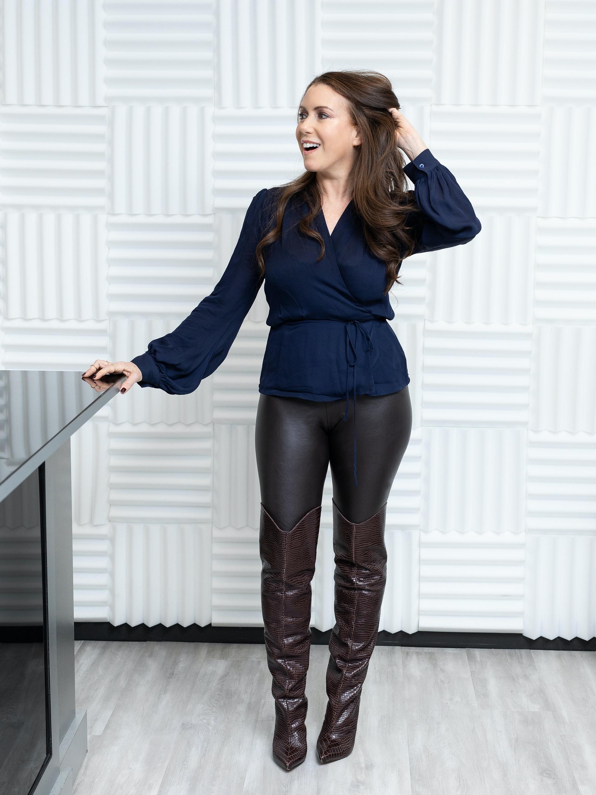 Gwen Flamberg standing