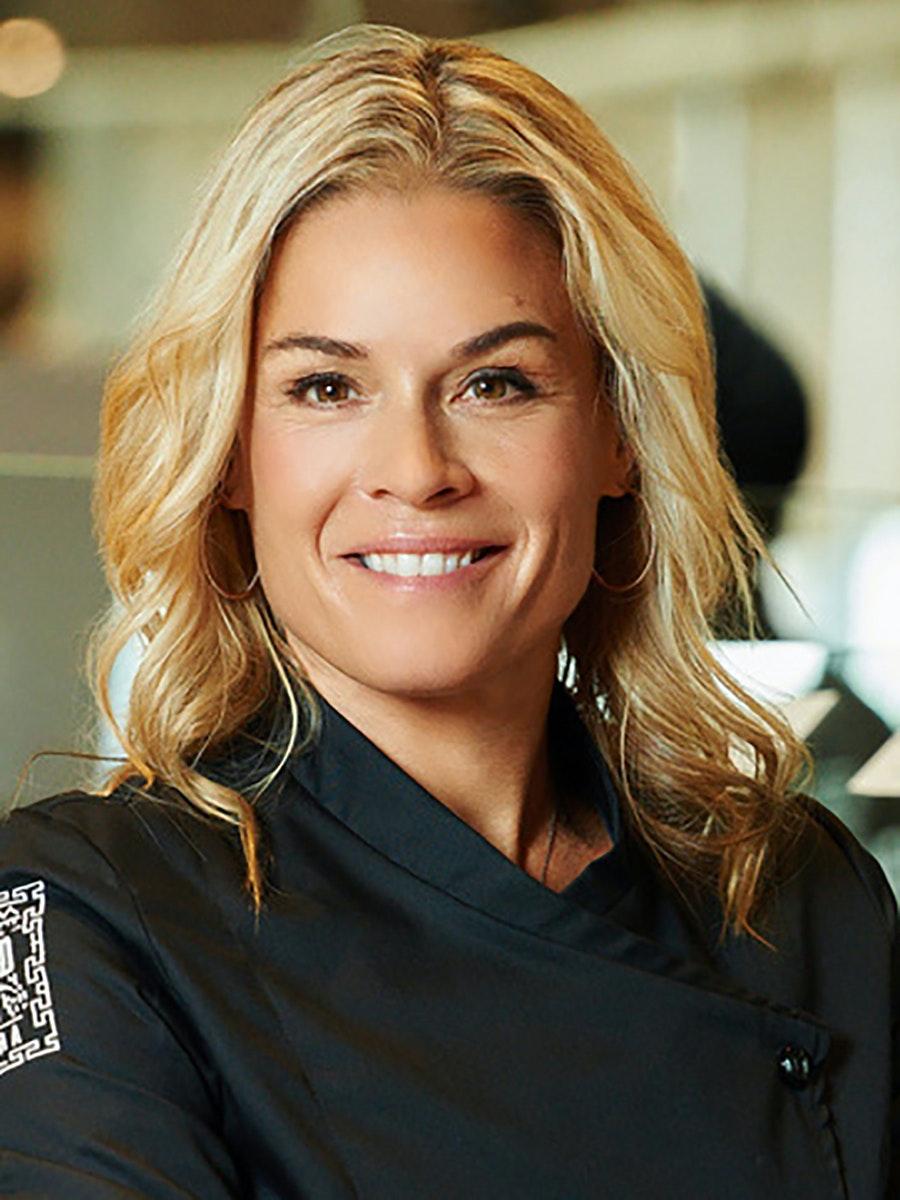 Cat Cora, celebrity chef, restaurateur, and TV host