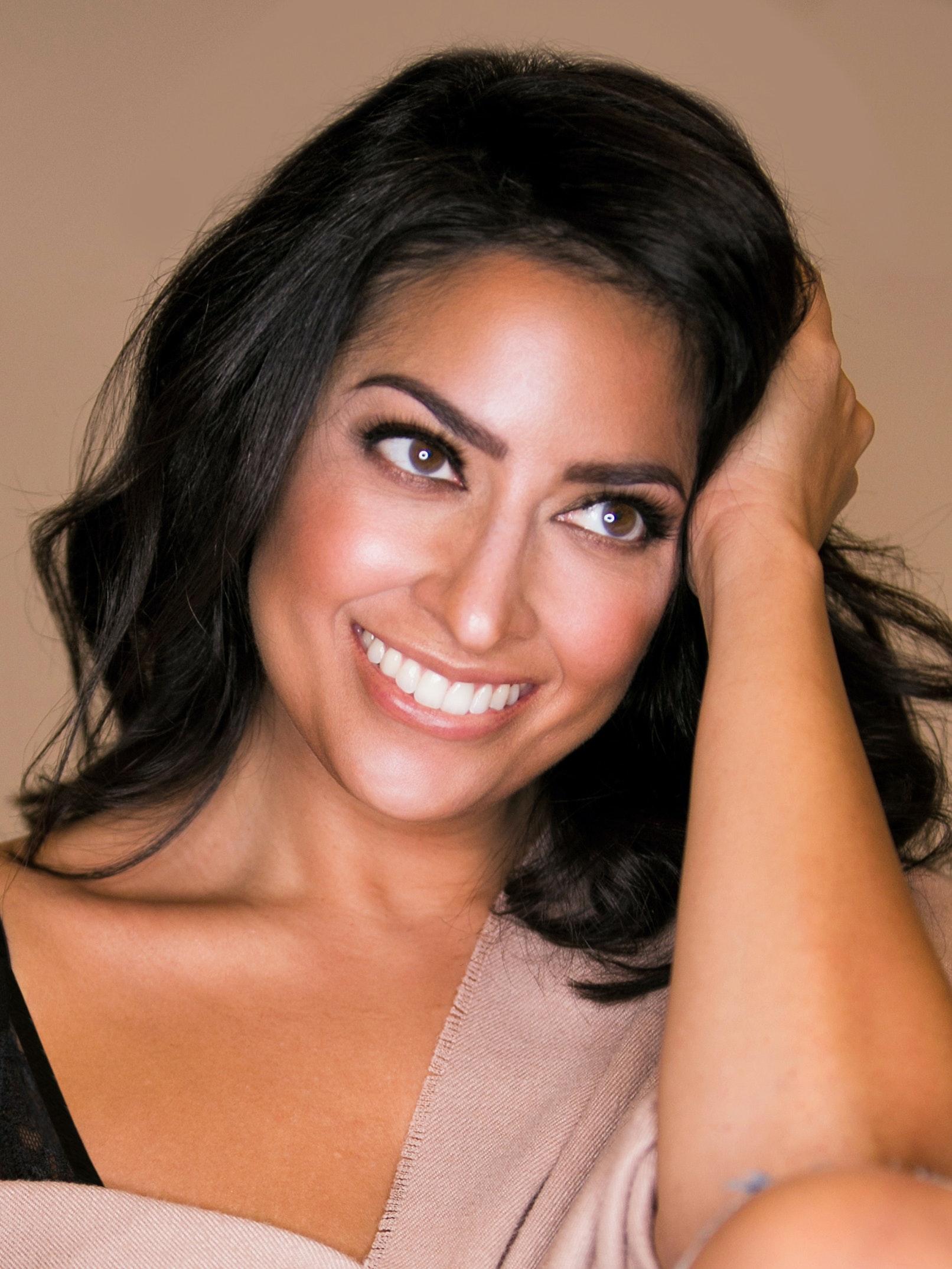 Karuna Chani, celebrity makeup artist and influencer