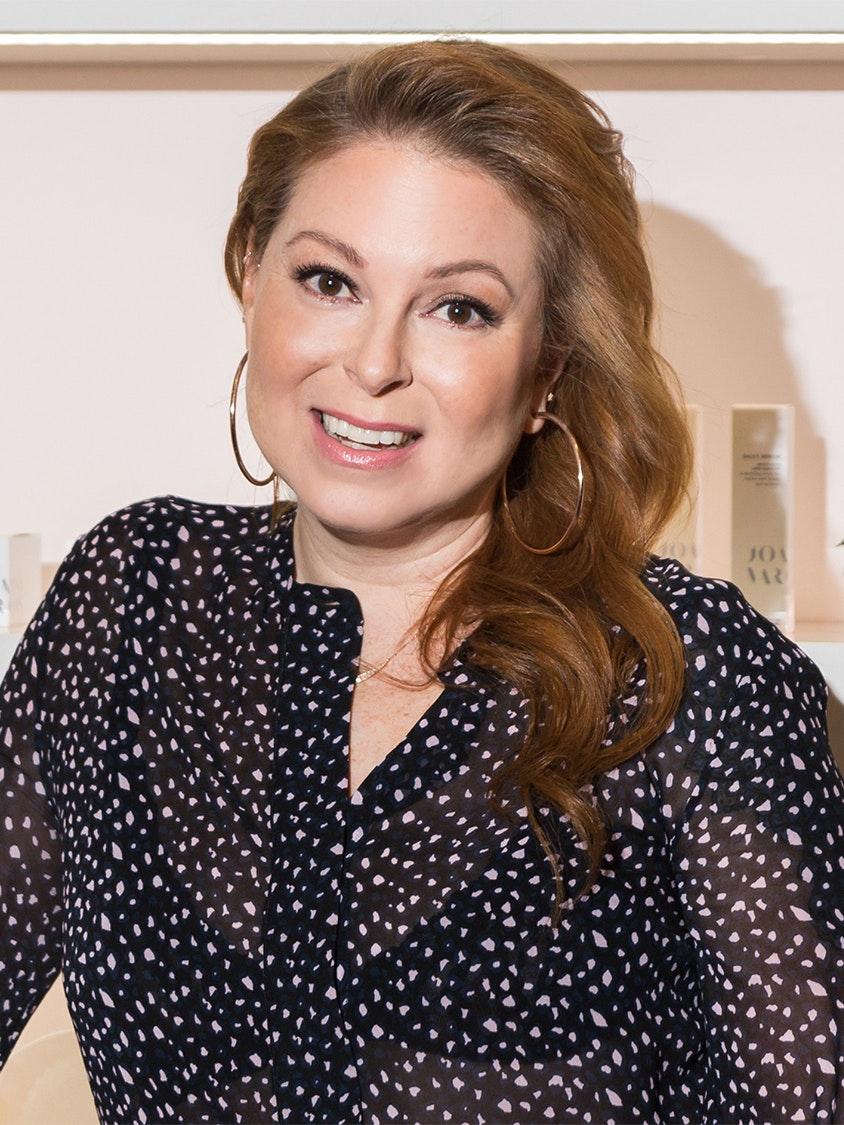 Joanna Vargas, celebrity facialist