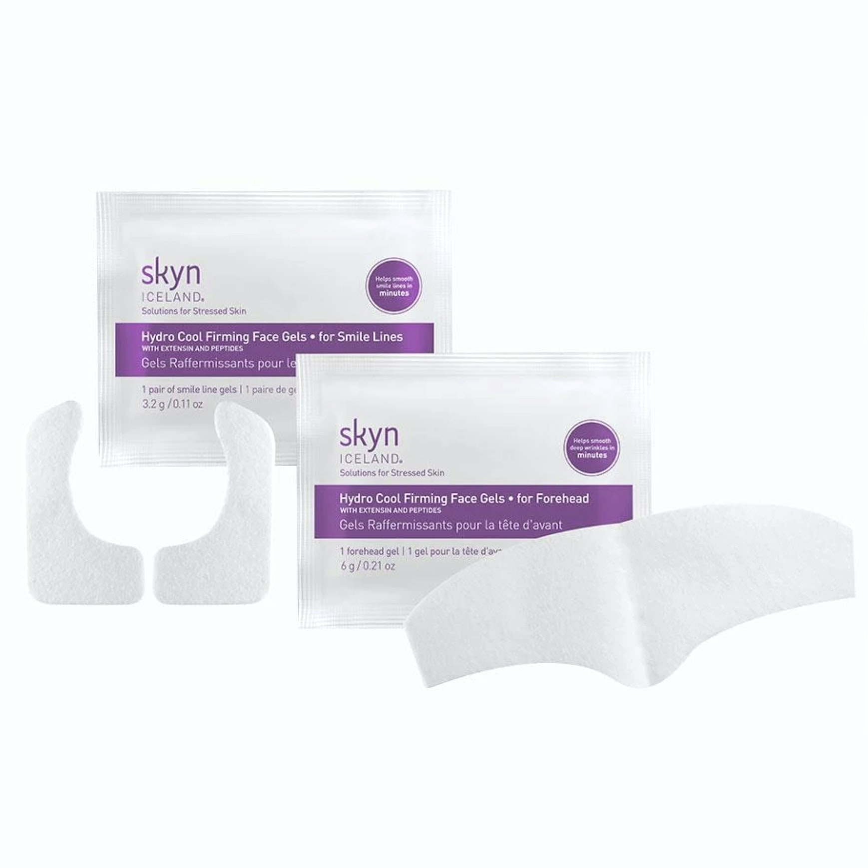 Skyn Iceland® Hydro Cool Firming Face Gels