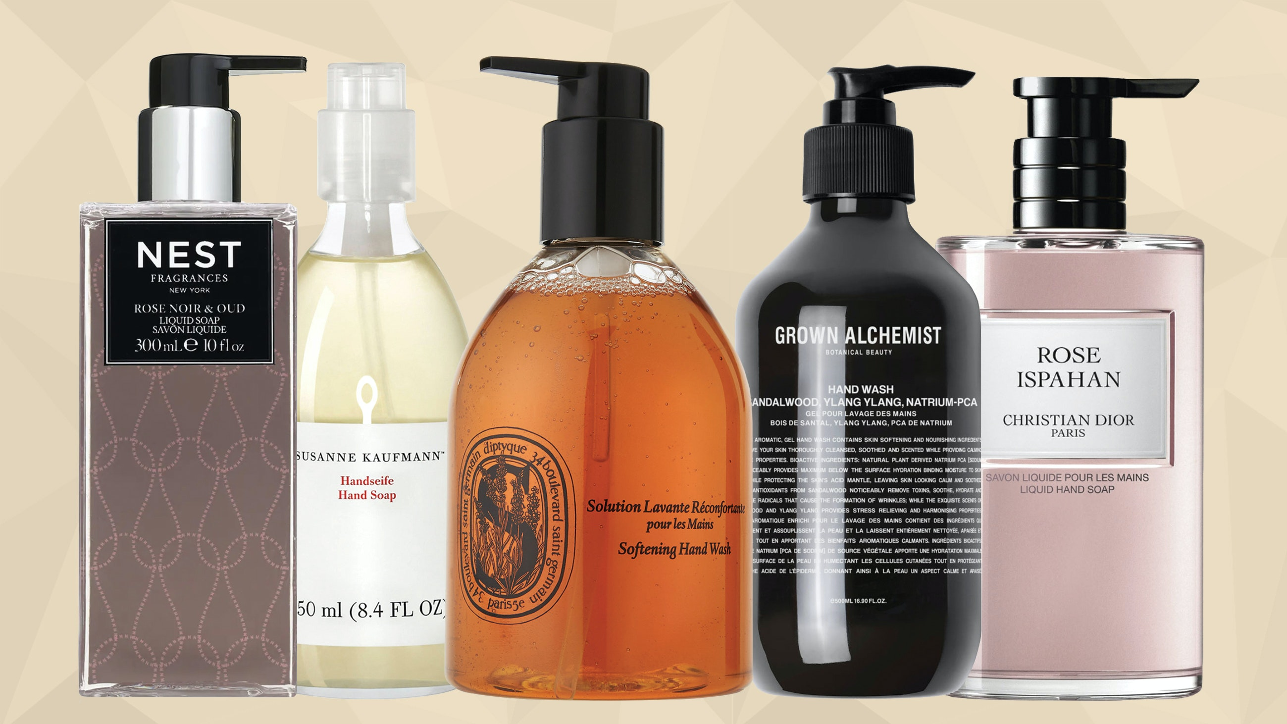 Luxury hand soaps - do you need an antibacterial handsoap?