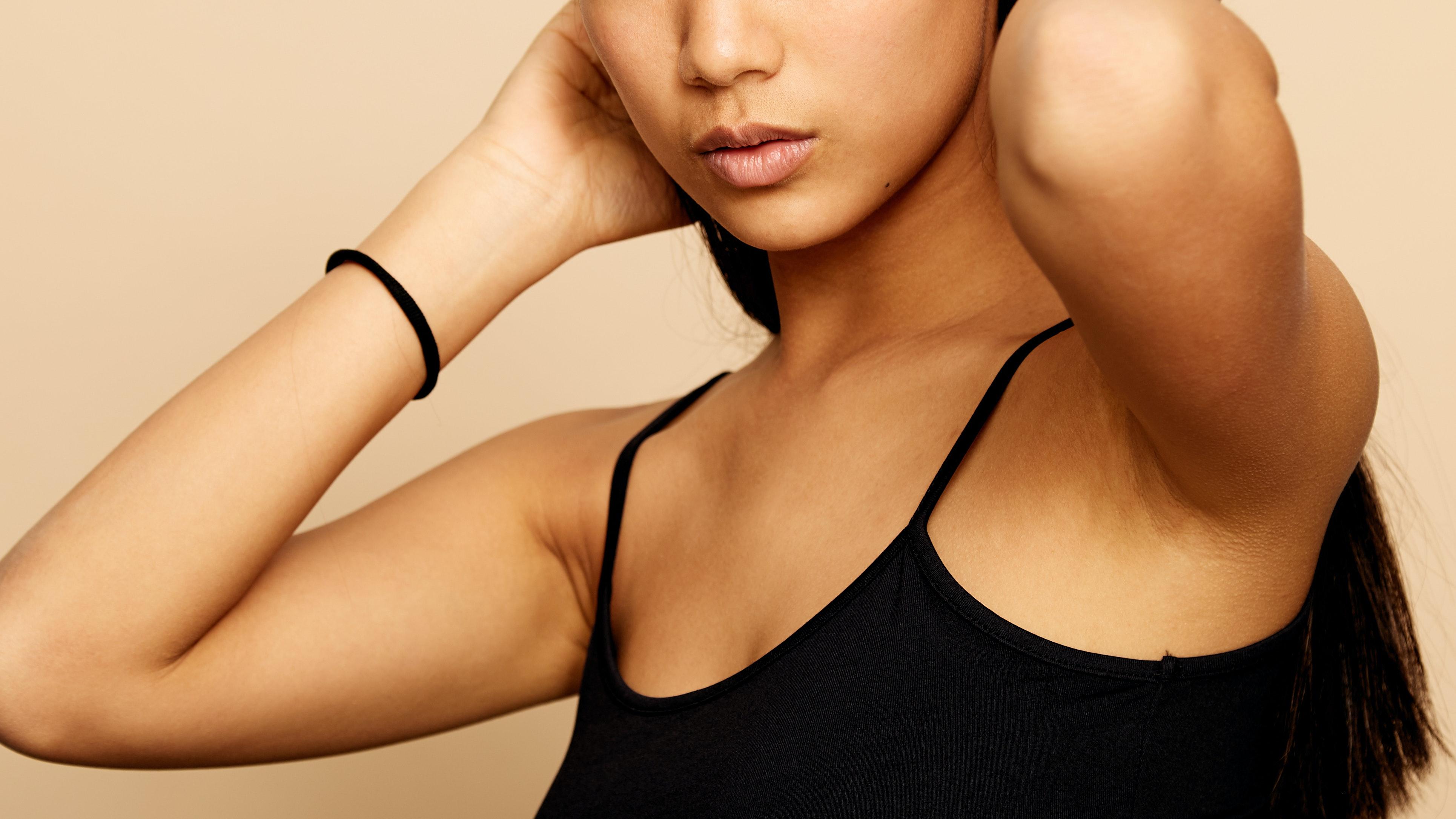 how to lighten dark underarms