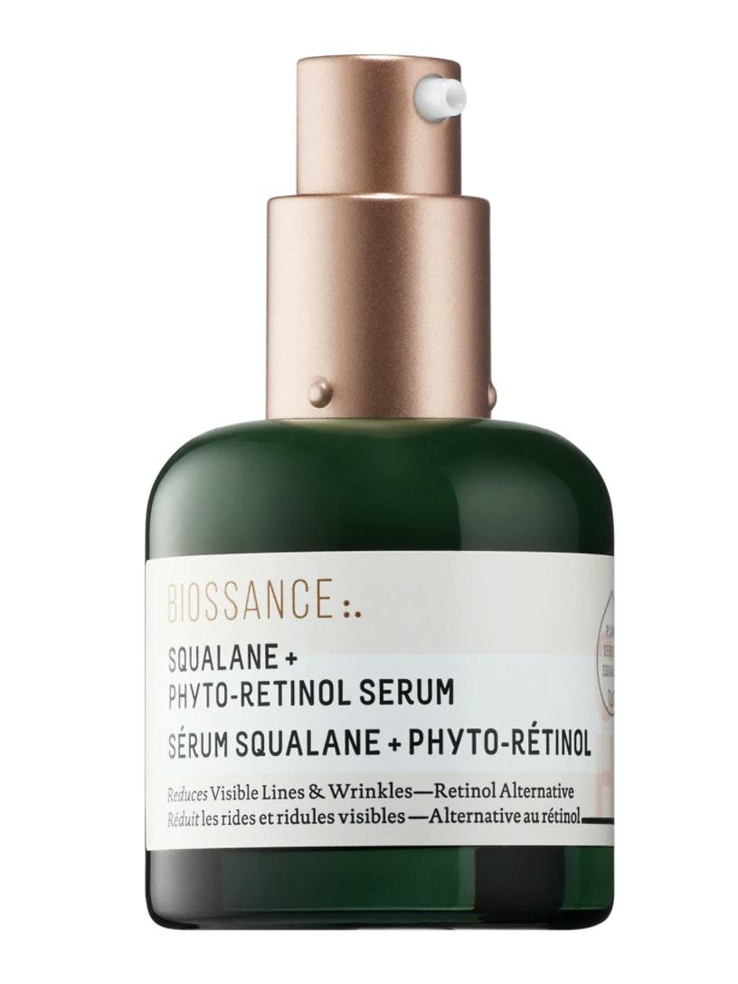 fermented skincare Biossance® Squalane + Phyto-Retinol Serum
