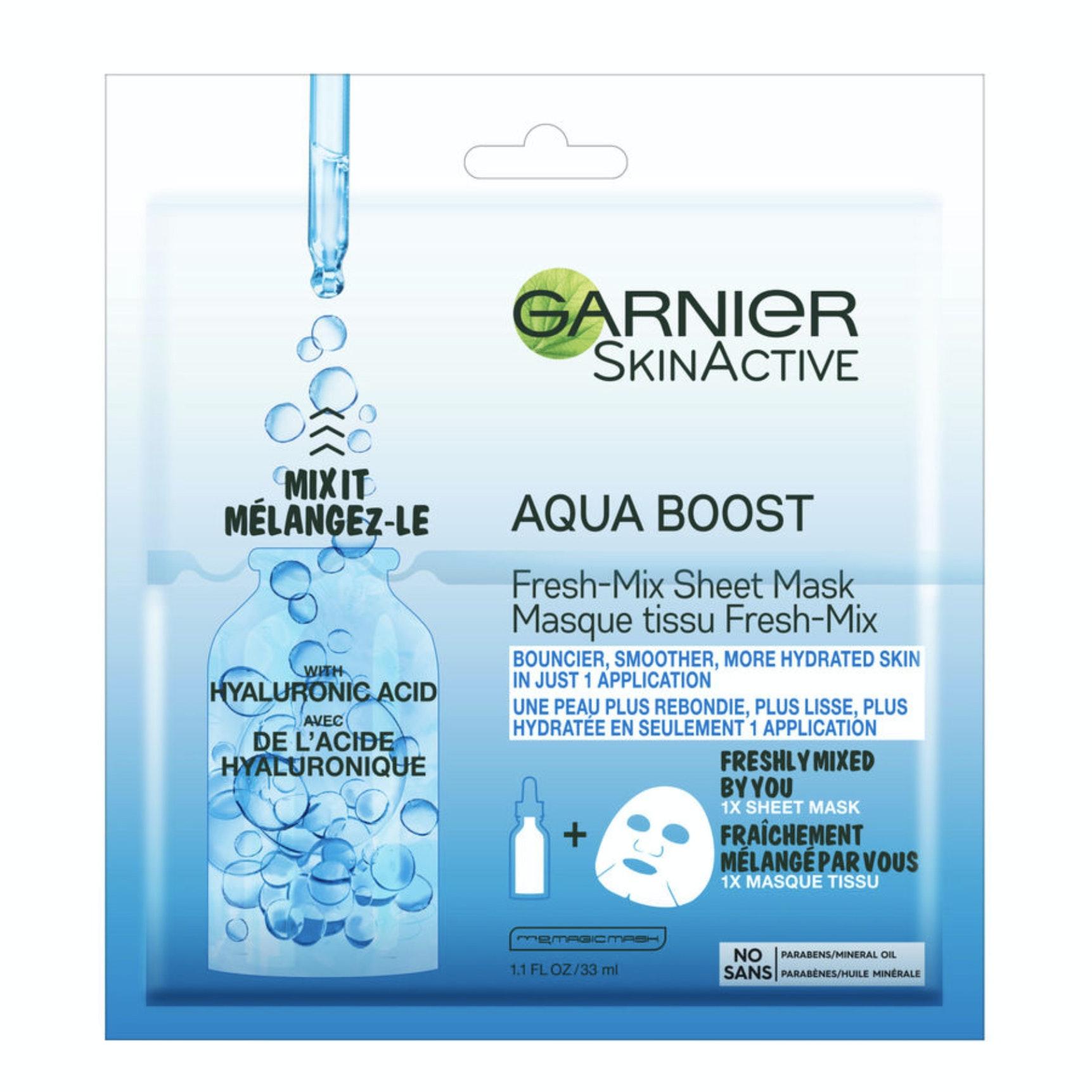 Garnier® SkinActive® Aqua Boost™ Fresh-Mix Sheet Mask
