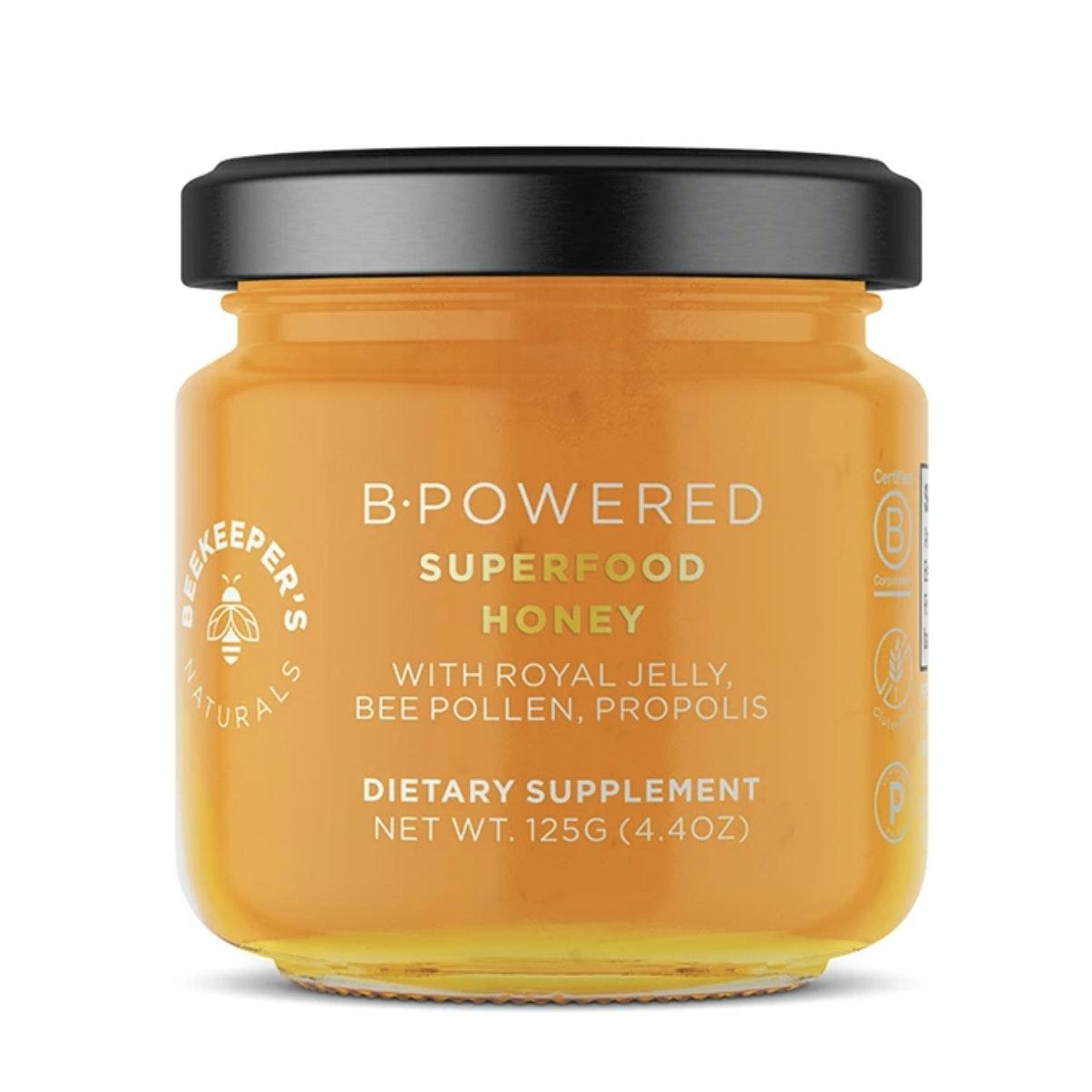Beekeeper's Naturals® B.Powered™ Superfood Honey