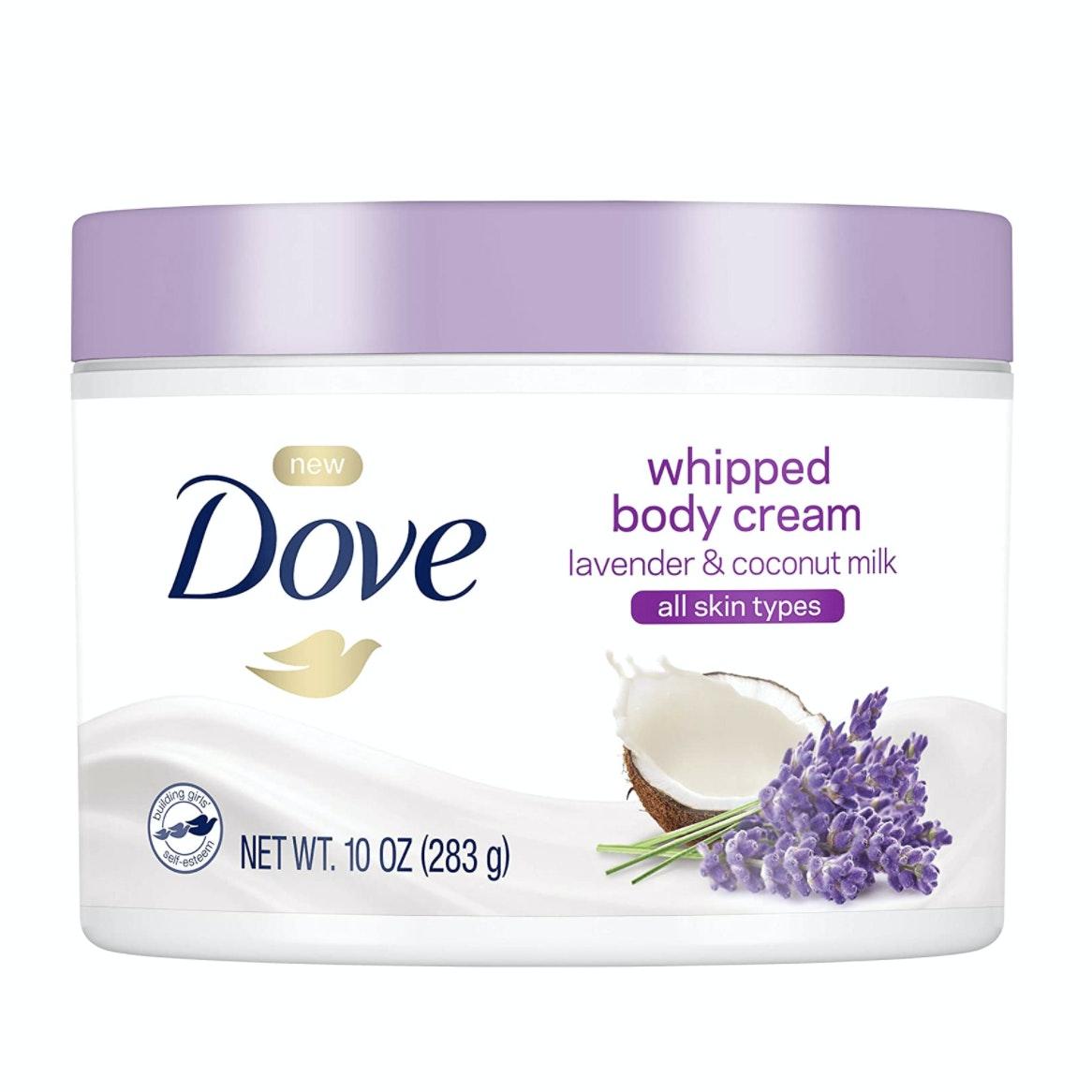 Dove® Whipped Lavender & Coconut Milk Body Cream