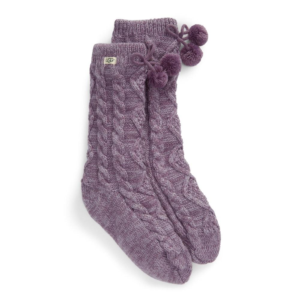 UGG® Pom Pom Fleece-Lined Socks