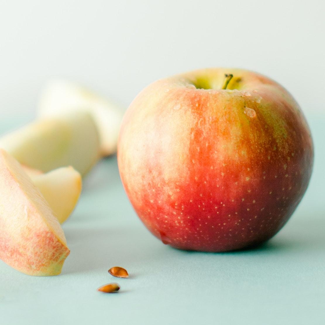 diy face mask apple