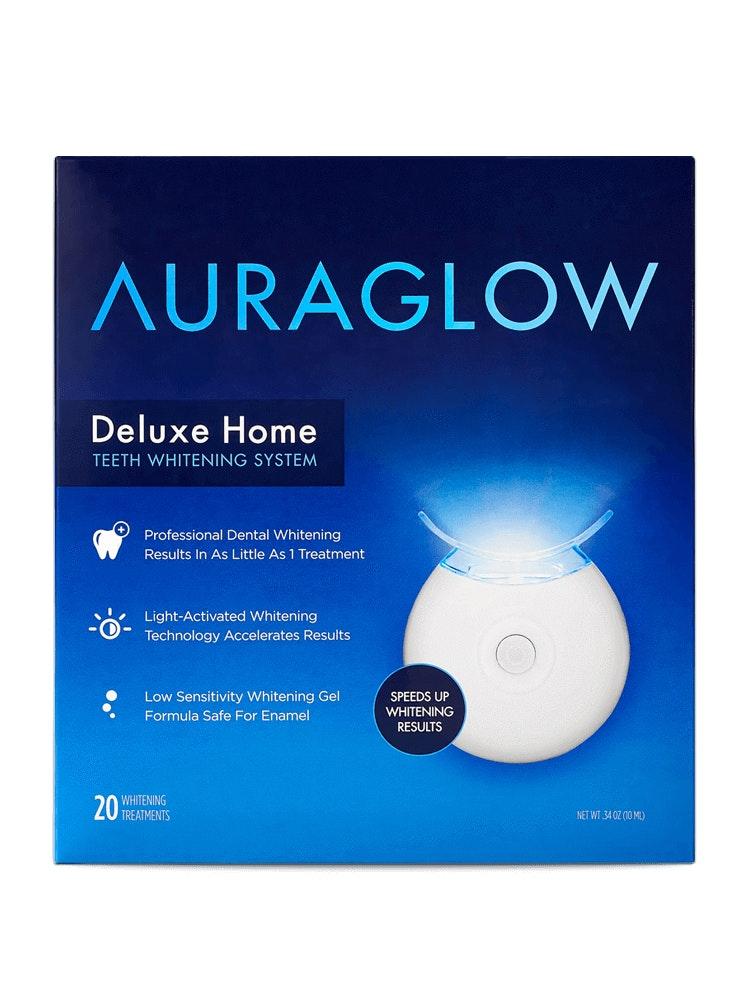 best at home teeth whitening  AURAGLOW® Teeth Whitening Kit