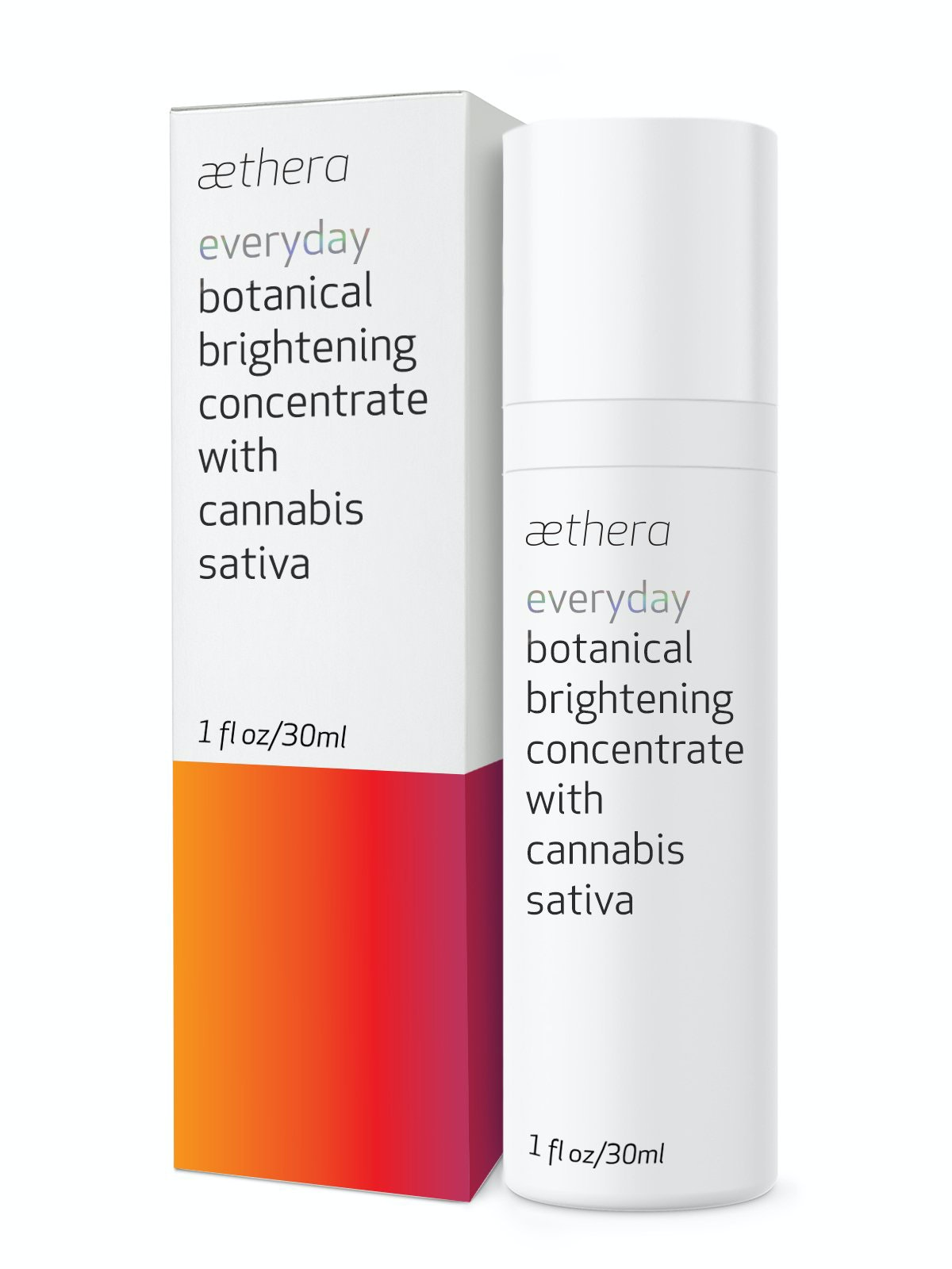 DC Beauty Brands Aethera Beauty Everyday Botanical Brightening Concentrate
