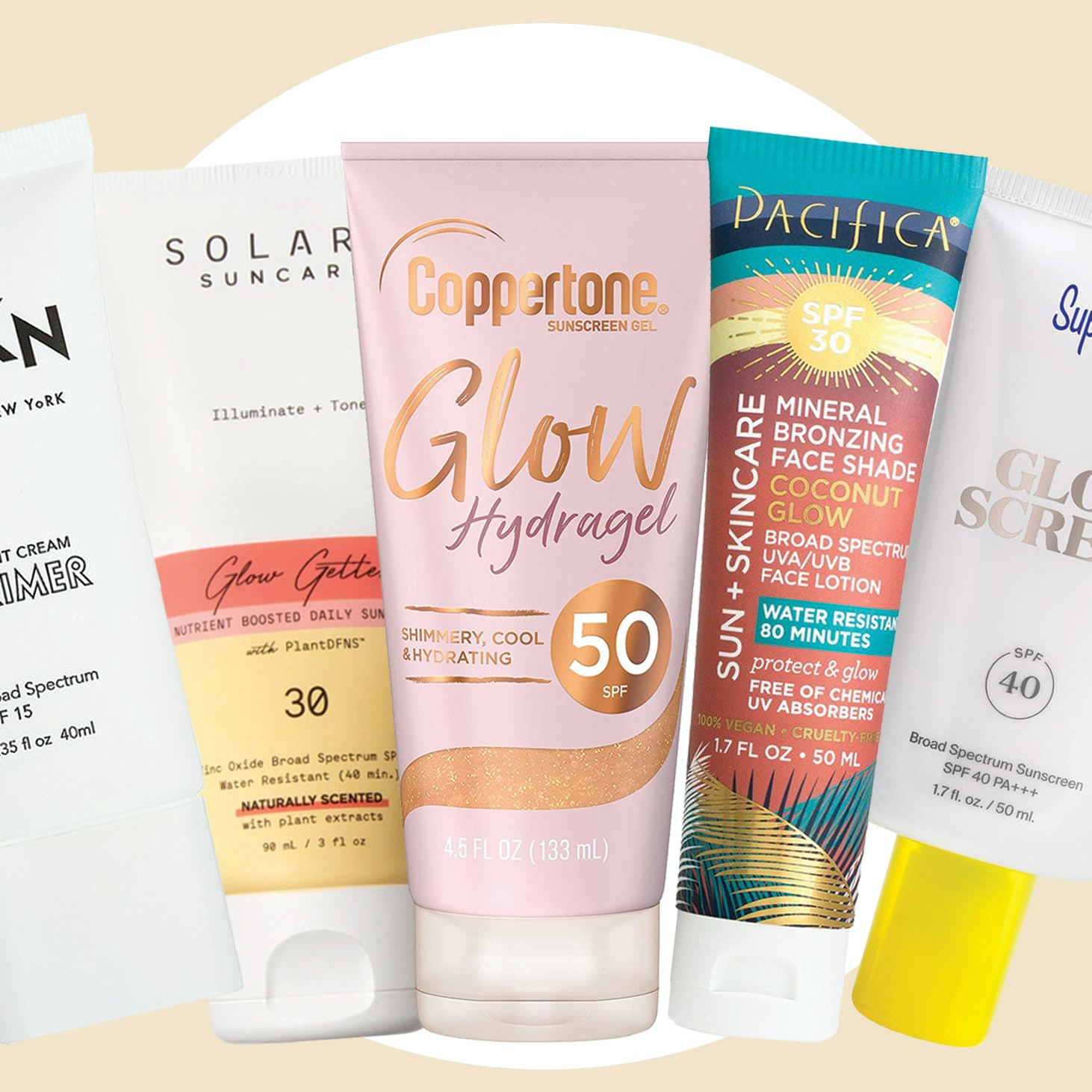 7 Ultra-Luminous, Shimmery Sunscreens For an Instant Radiance Boost