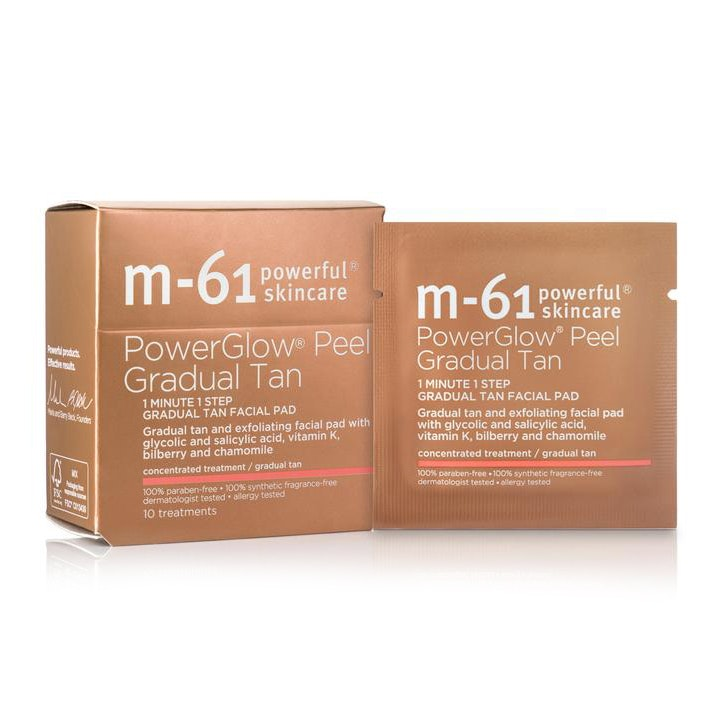 M-61 Powerglow® Peel Gradual Tan