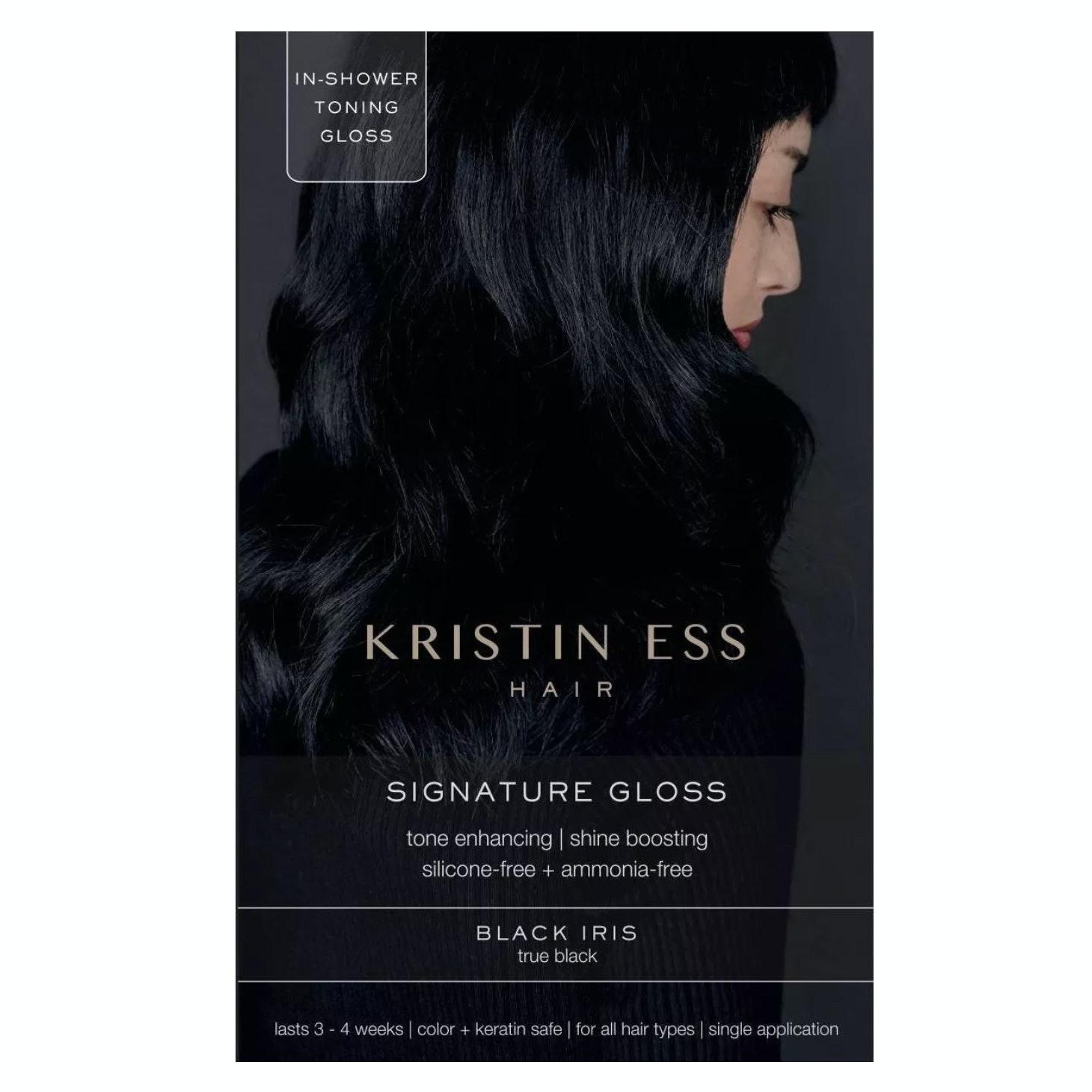Kristin Ess® Hair Signature Hair Gloss in Black Iris True Black