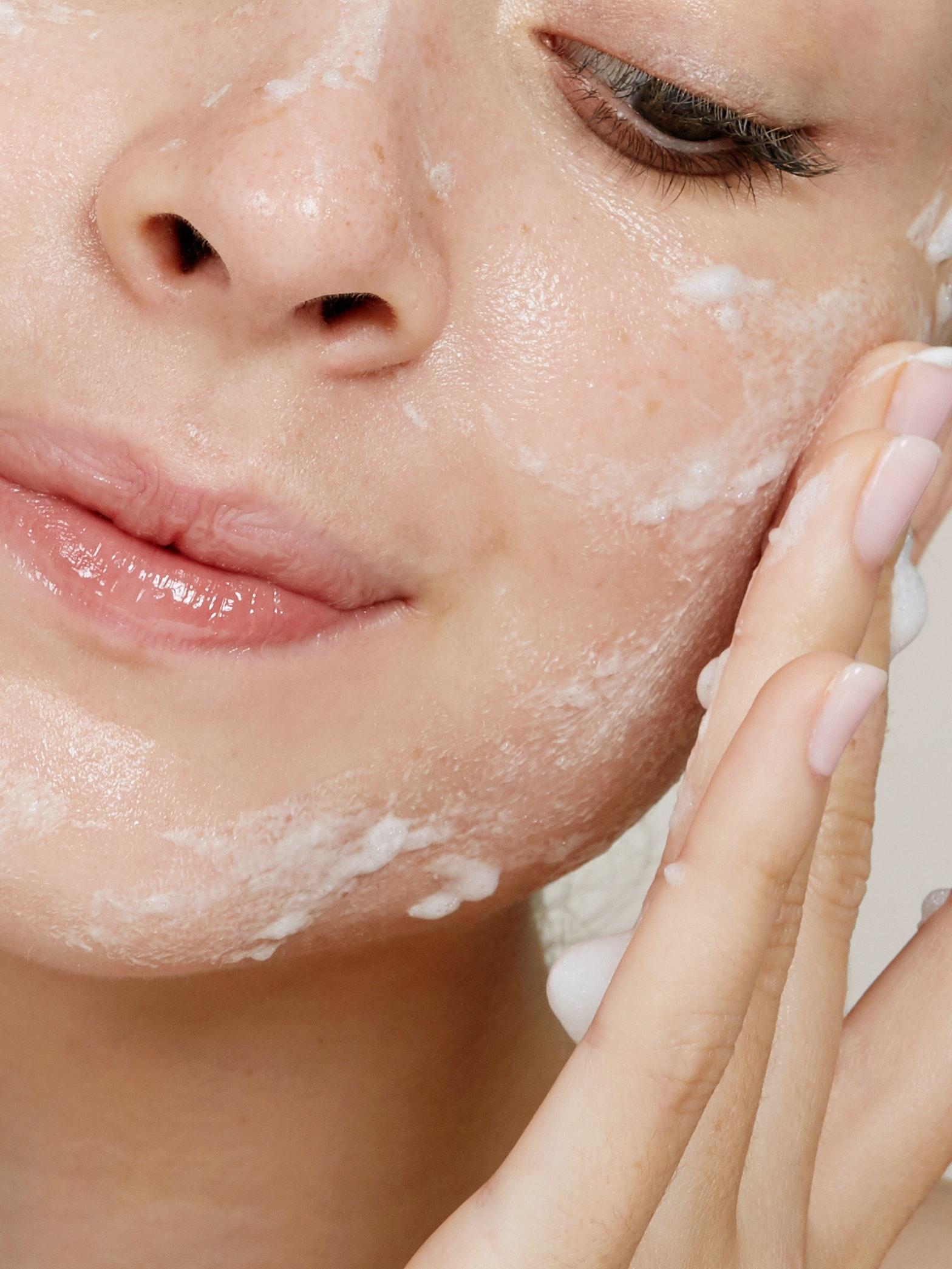 face care skincare pilling