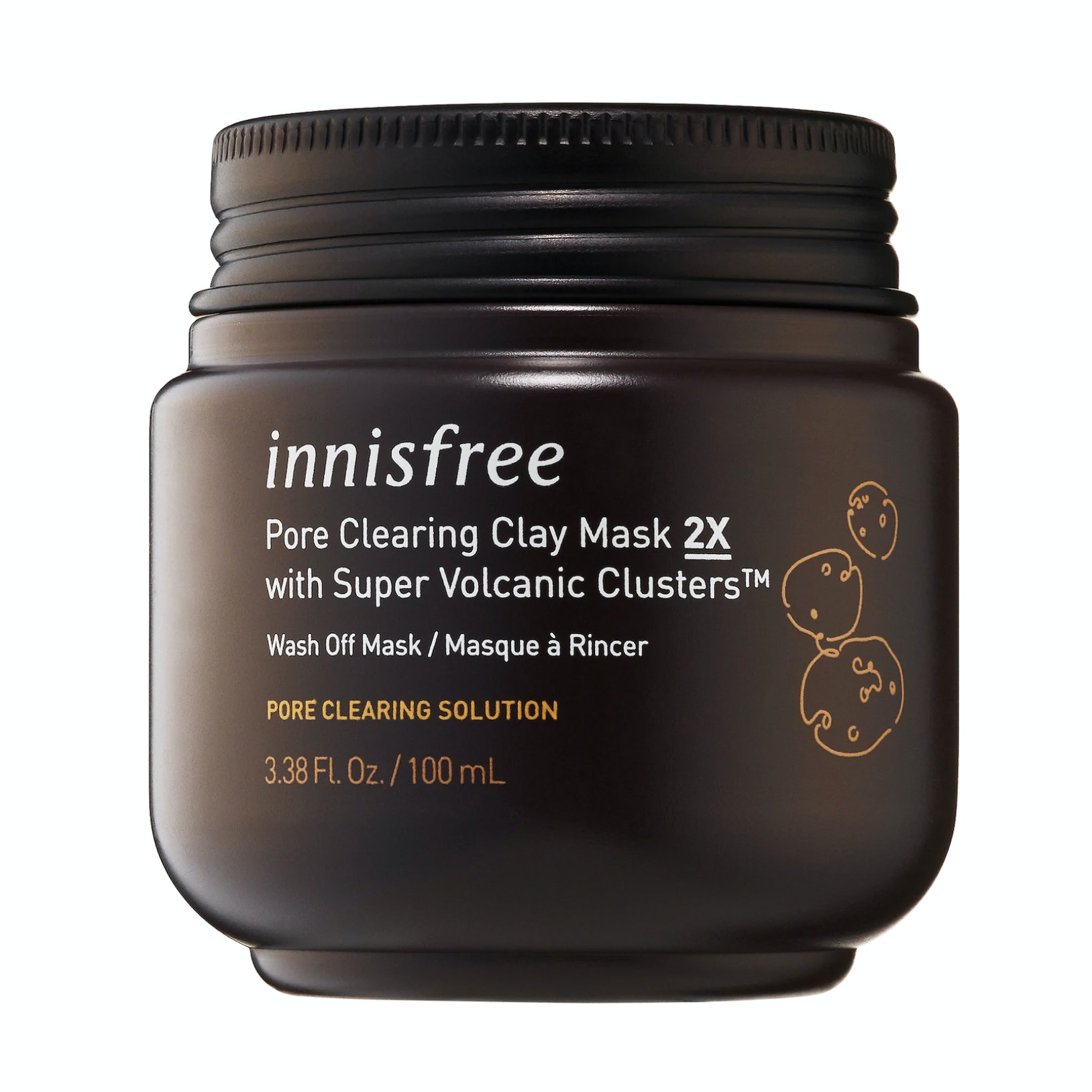 Innisfree® Pore Clearing Clay Mask with Super Volcanic Clusters™