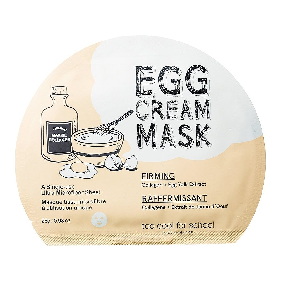 Too Cool For School® Egg Cream Mask Firming