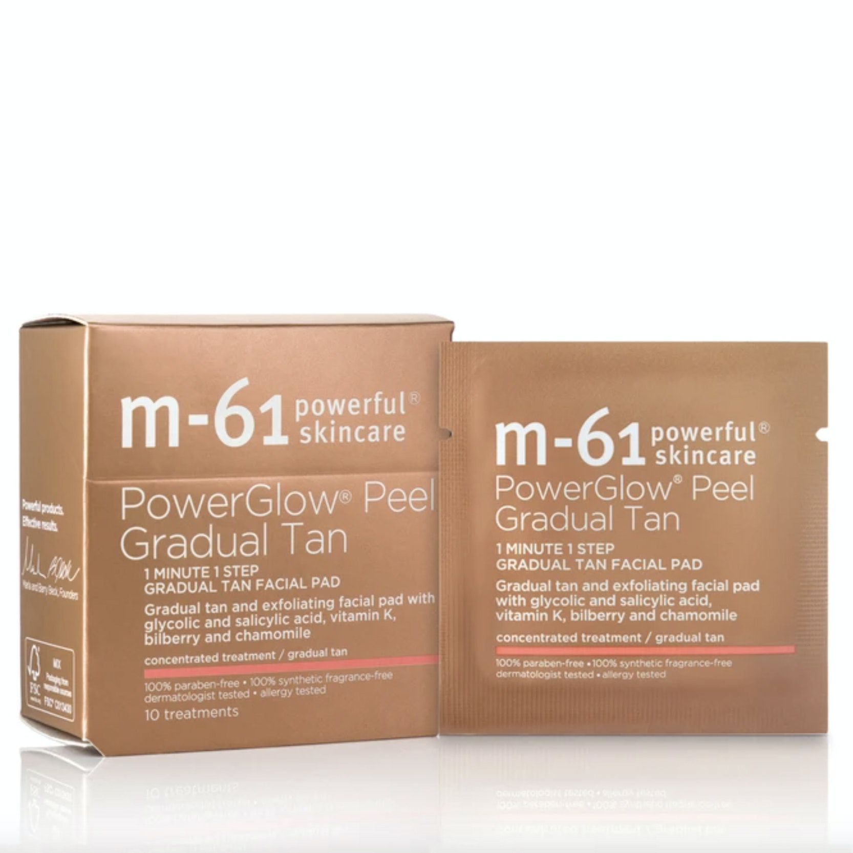 M-61® PowerGlow® Peel Gradual Tan
