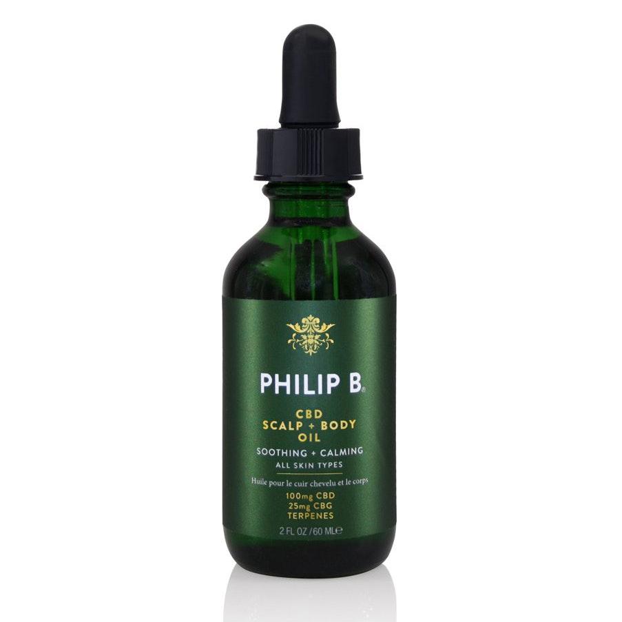 Philip B® CBD Scalp + Body Oil