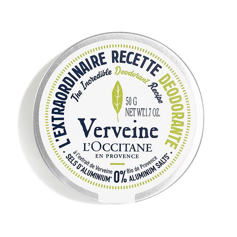 L'Occitane® The Incredible Deodorant Recipe in Verbena