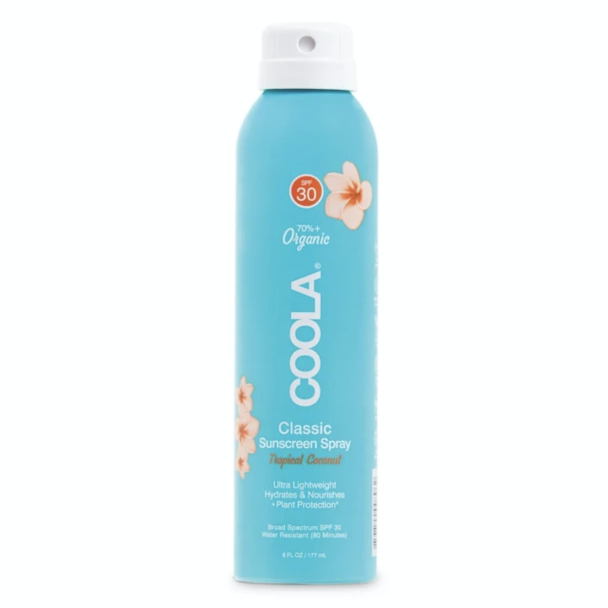 COOLA® Organic Sunscreen Body Spray in Tropical Coconut Broad Spectrum SPF 30