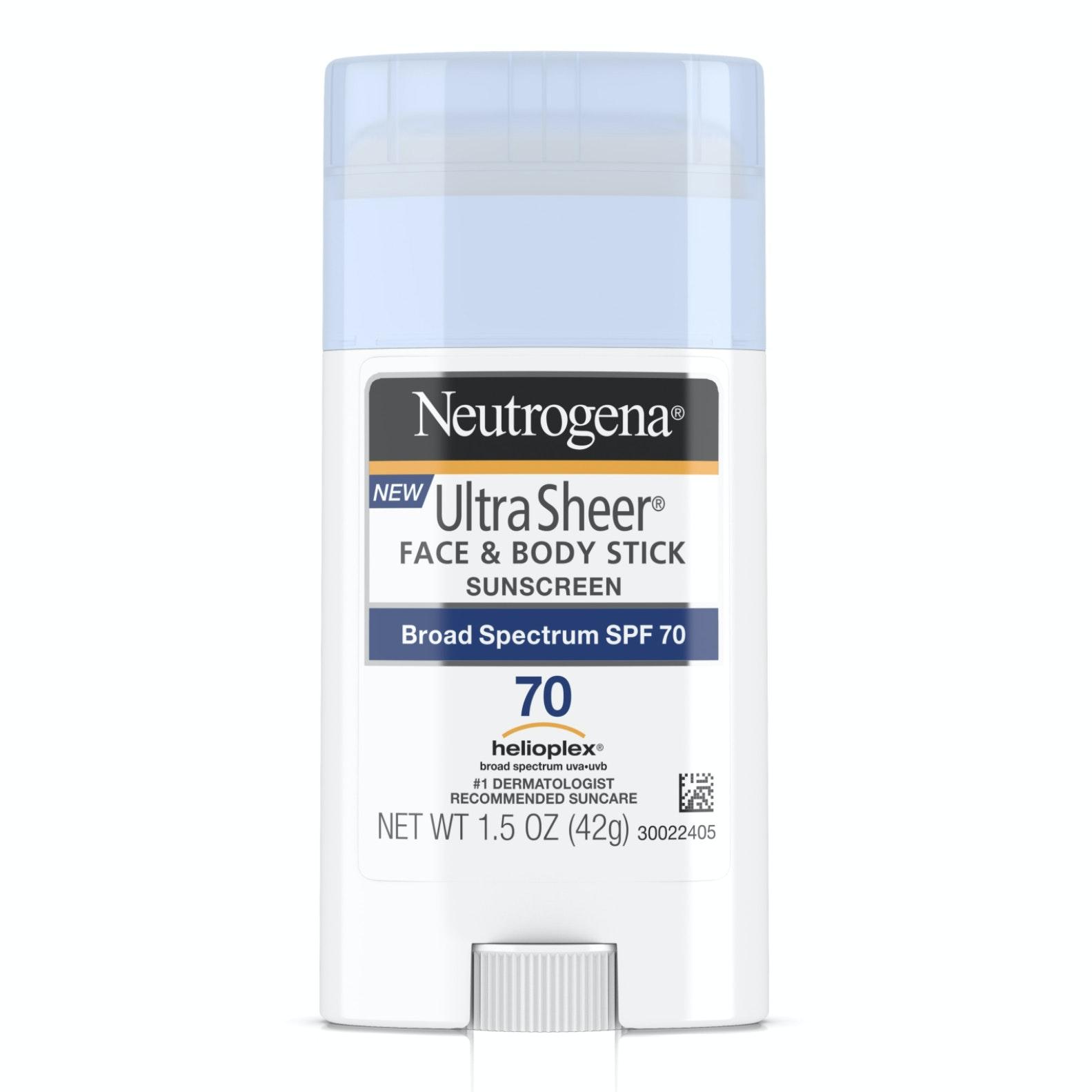 Neutrogena Ultra Sheer® Non-Greasy Sunscreen Stick SPF 70
