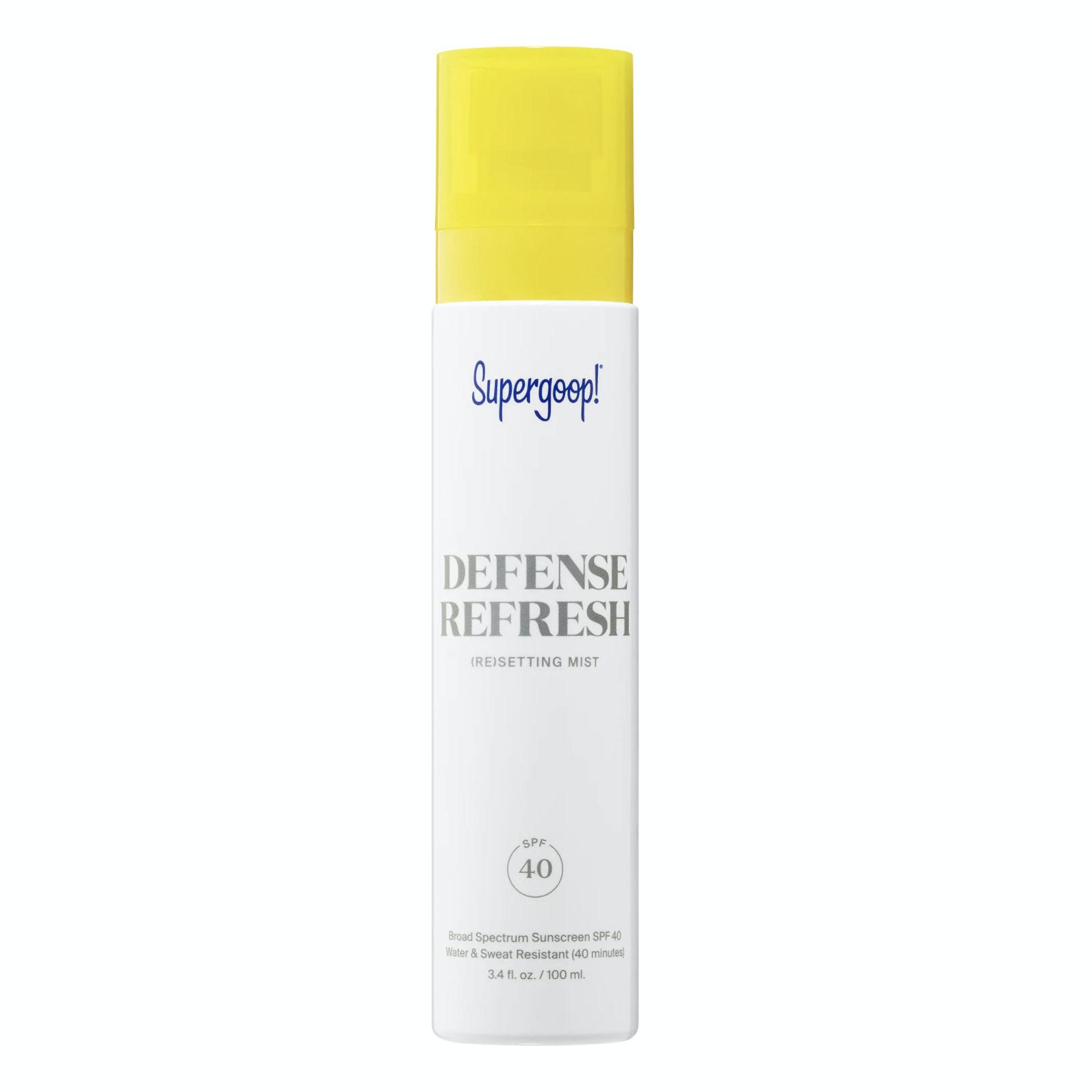 Supergoop!® Defense Refresh (Re)setting Mist SPF 40