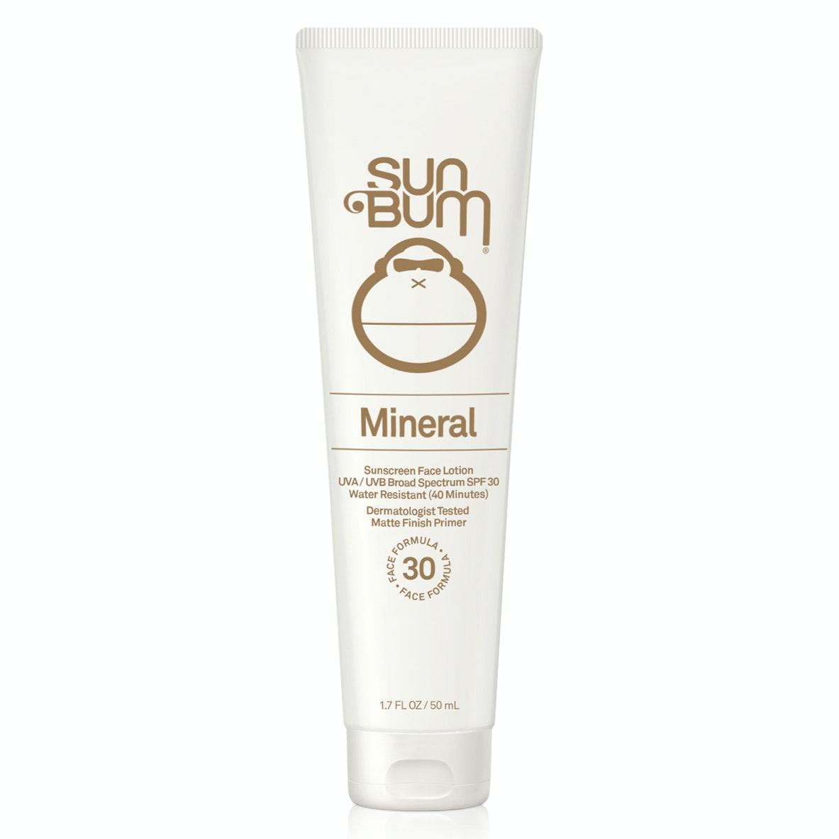 Sun Bum® Mineral SPF 30 Sunscreen Face Lotion