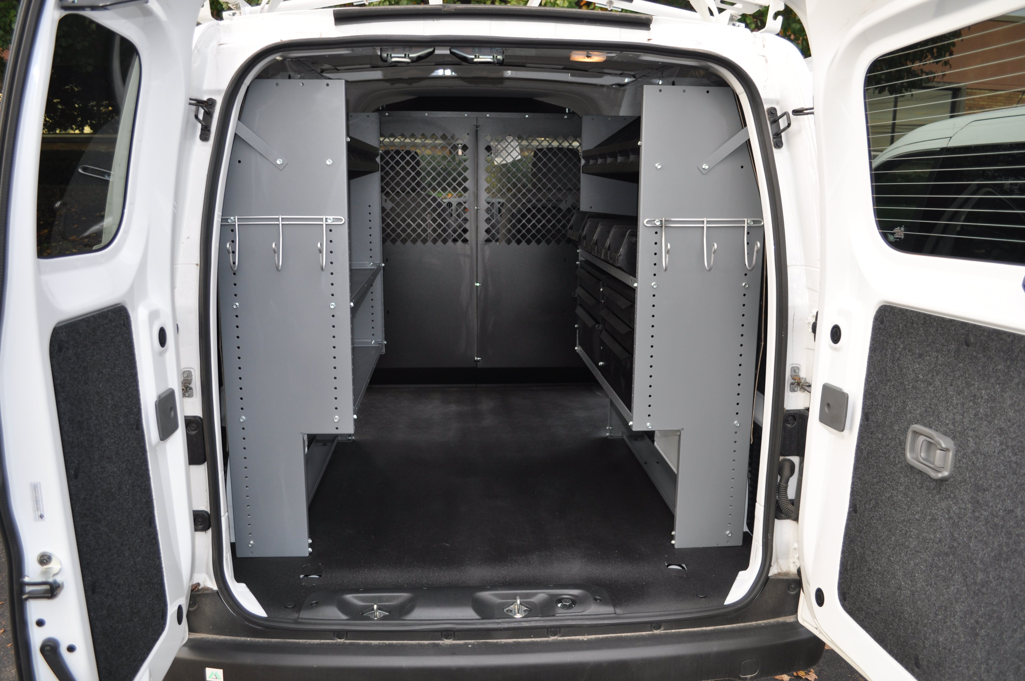 Upfits for Compact Vans