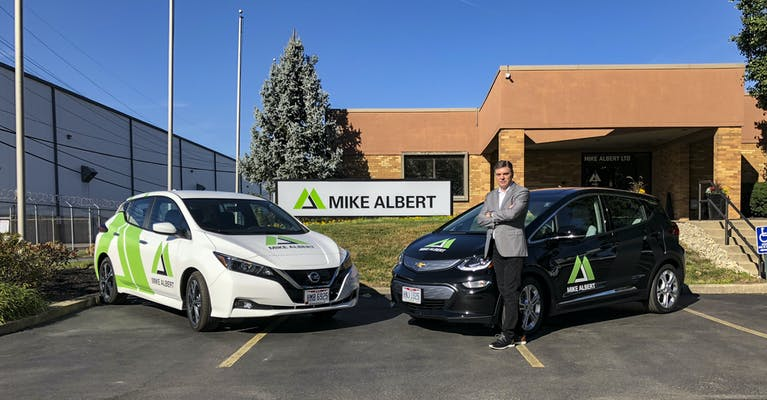 Charging Forward with Electric Fleet Vehicles   Mike Albert