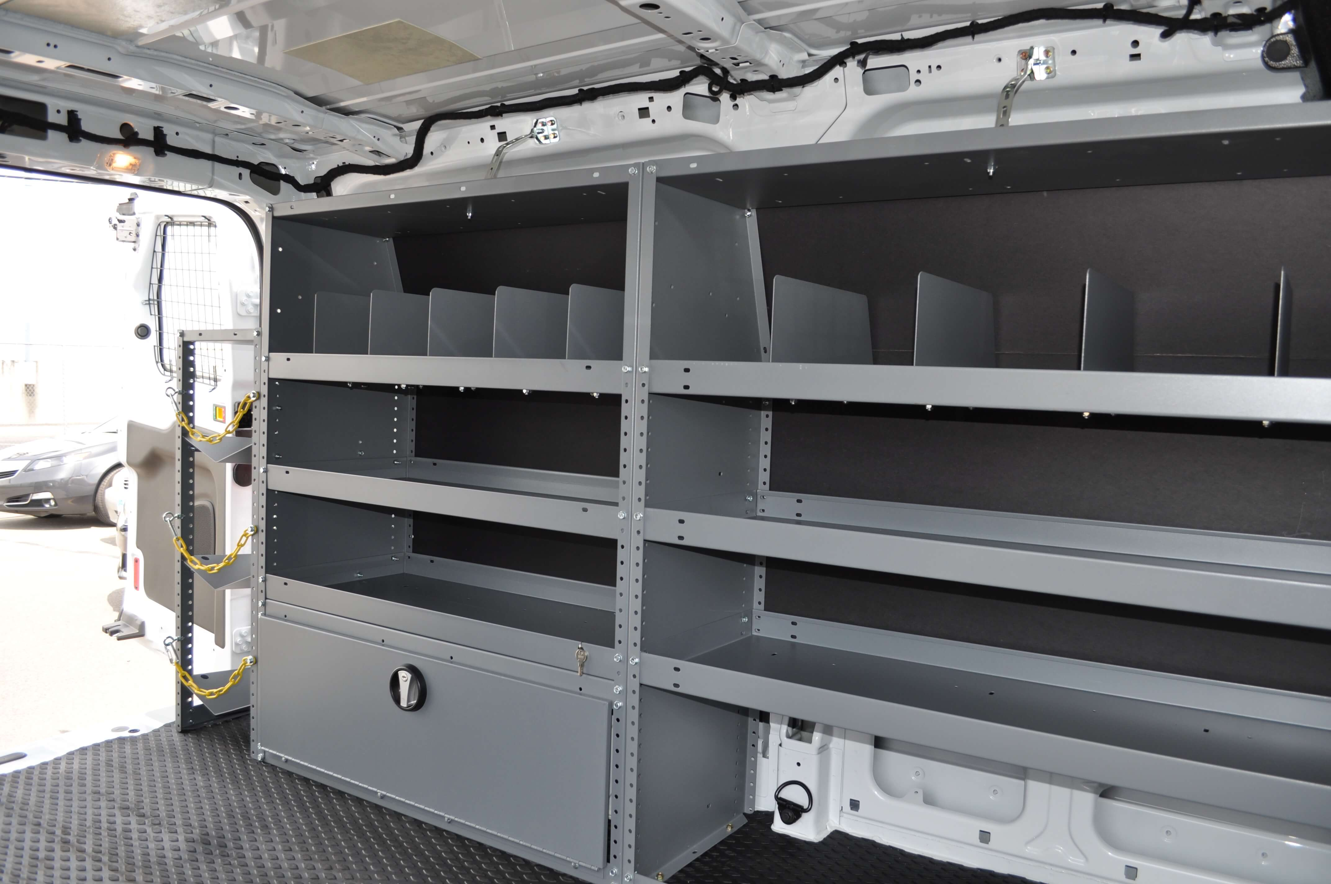 Work Van Shelving And Storage Mike