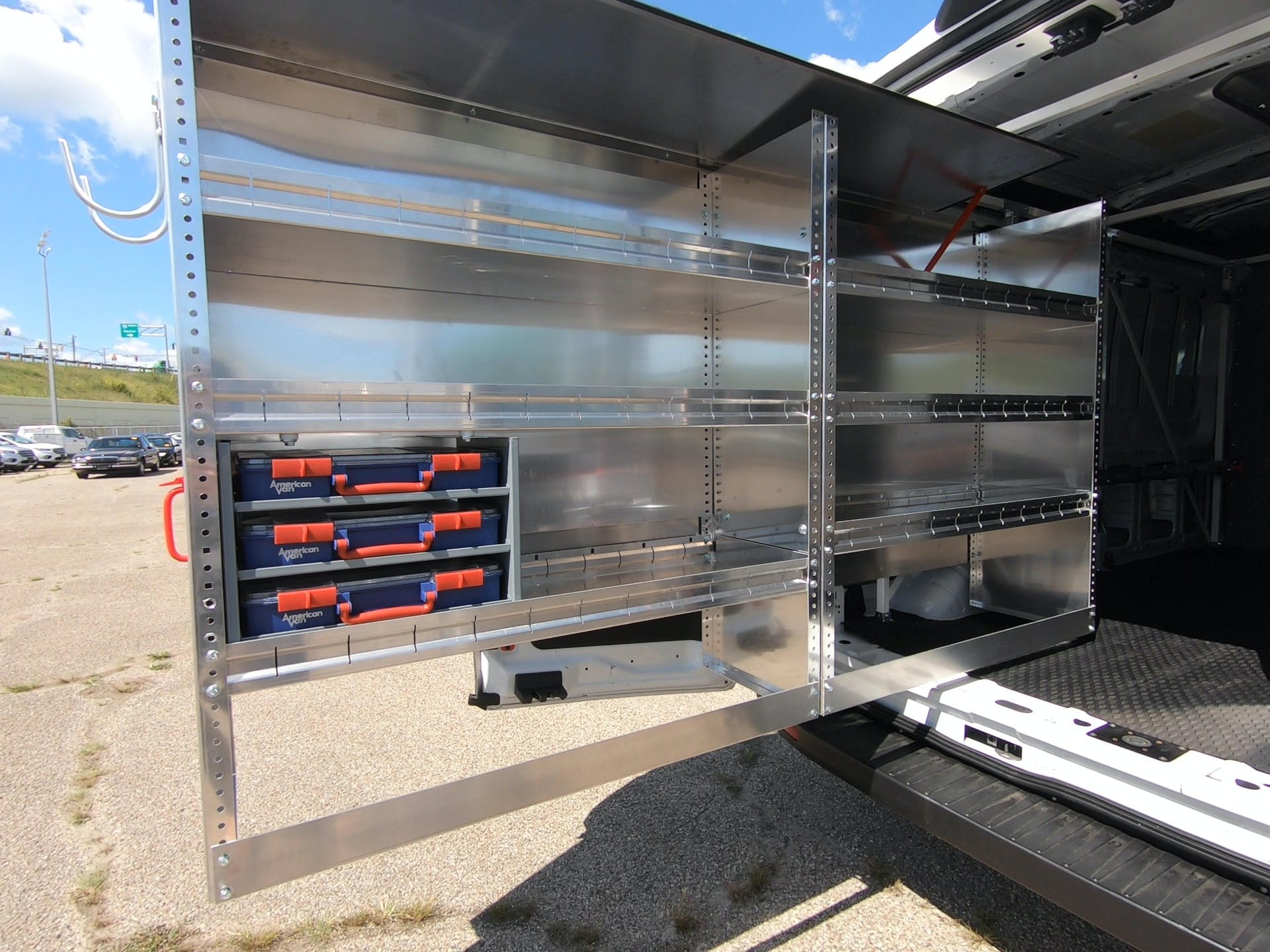 Cargo Van Shelving for large or small businesses